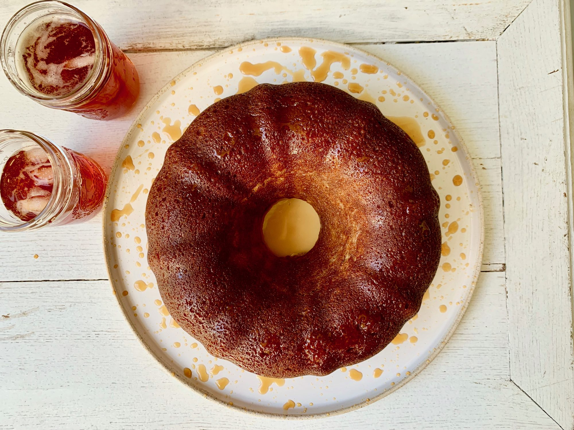 Sweet Tea Bundt Cake