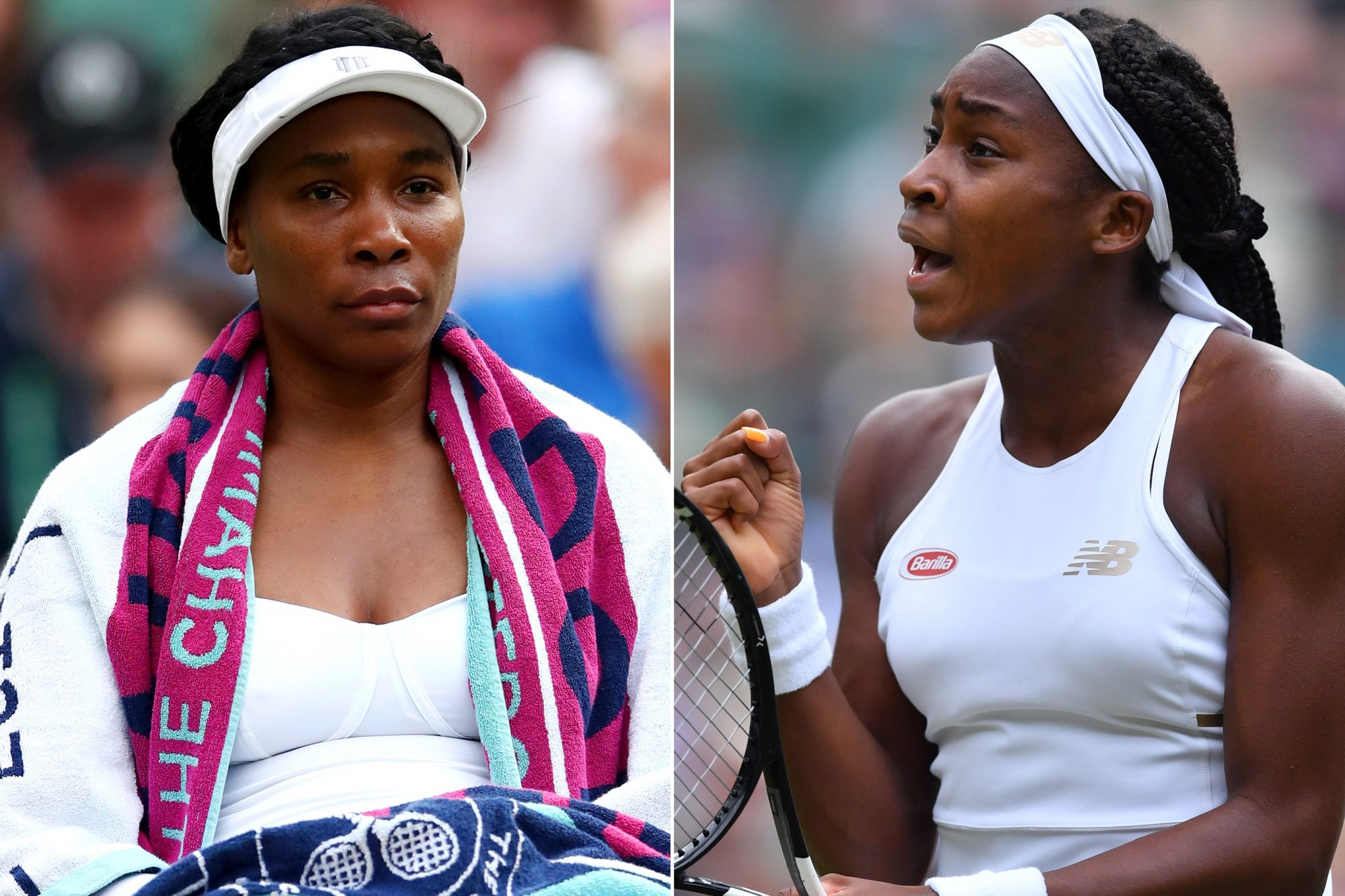 Venus Williams, Cori Gauff