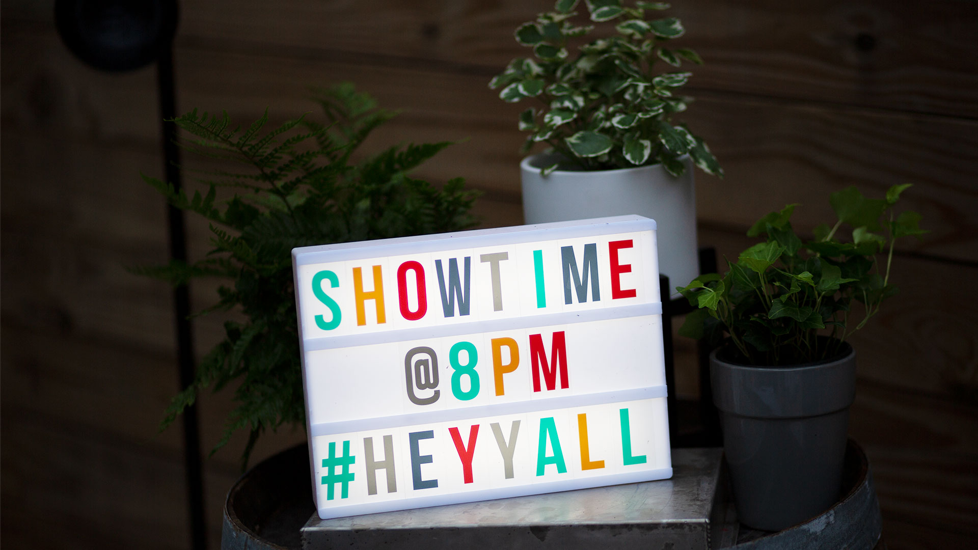 Showtime Sign
