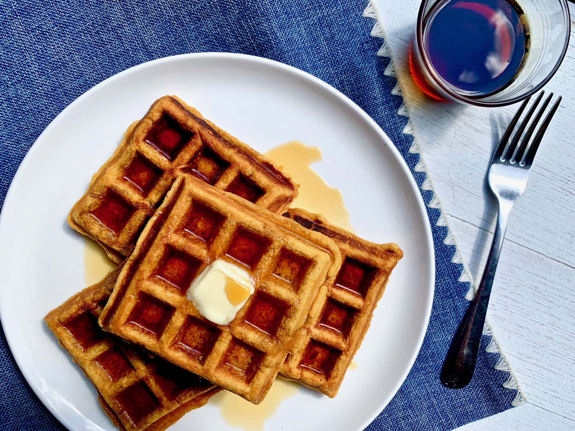Sweet Potato Waffles
