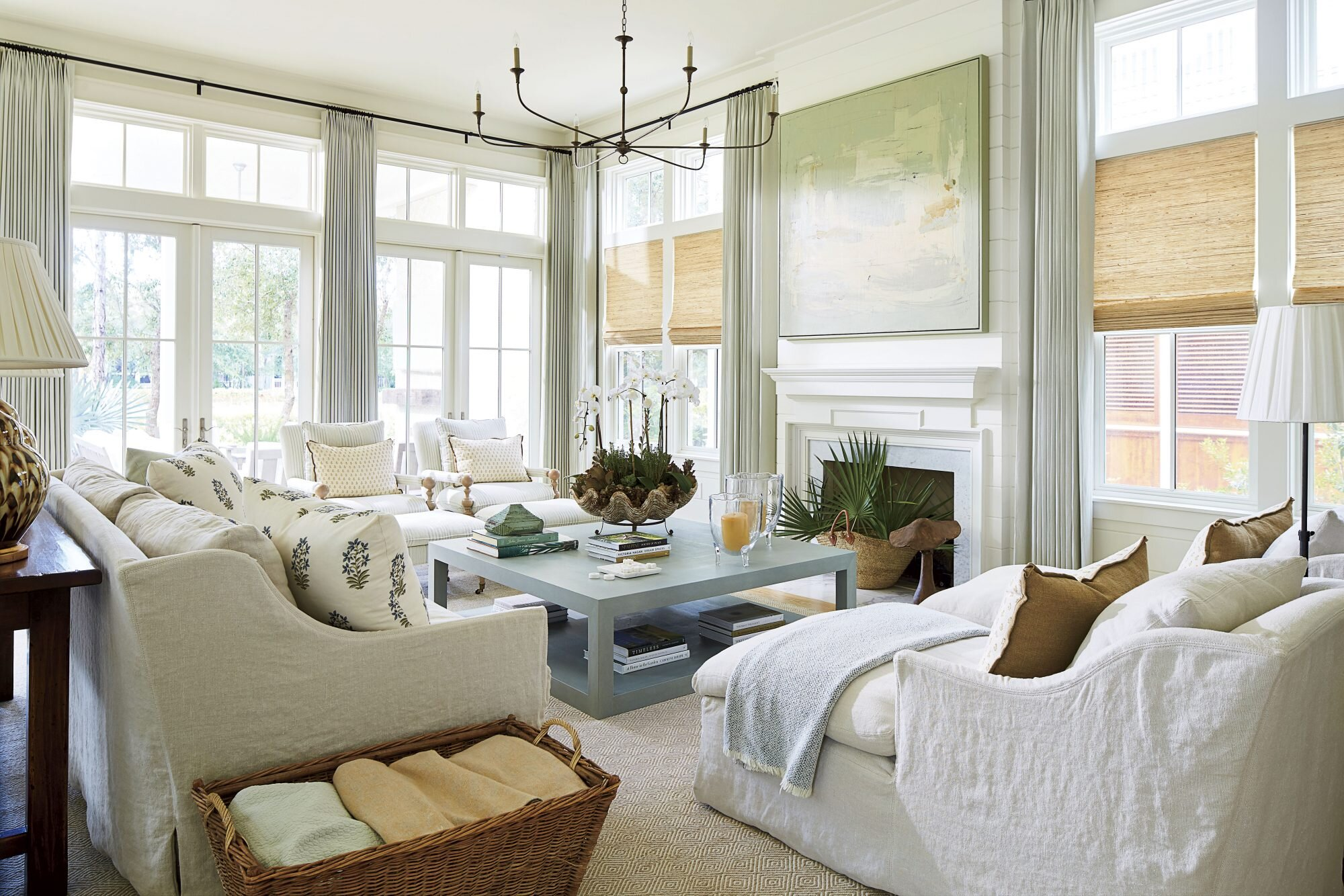 Neutrals Forever See Inside This Cozy Watercolor Florida Home