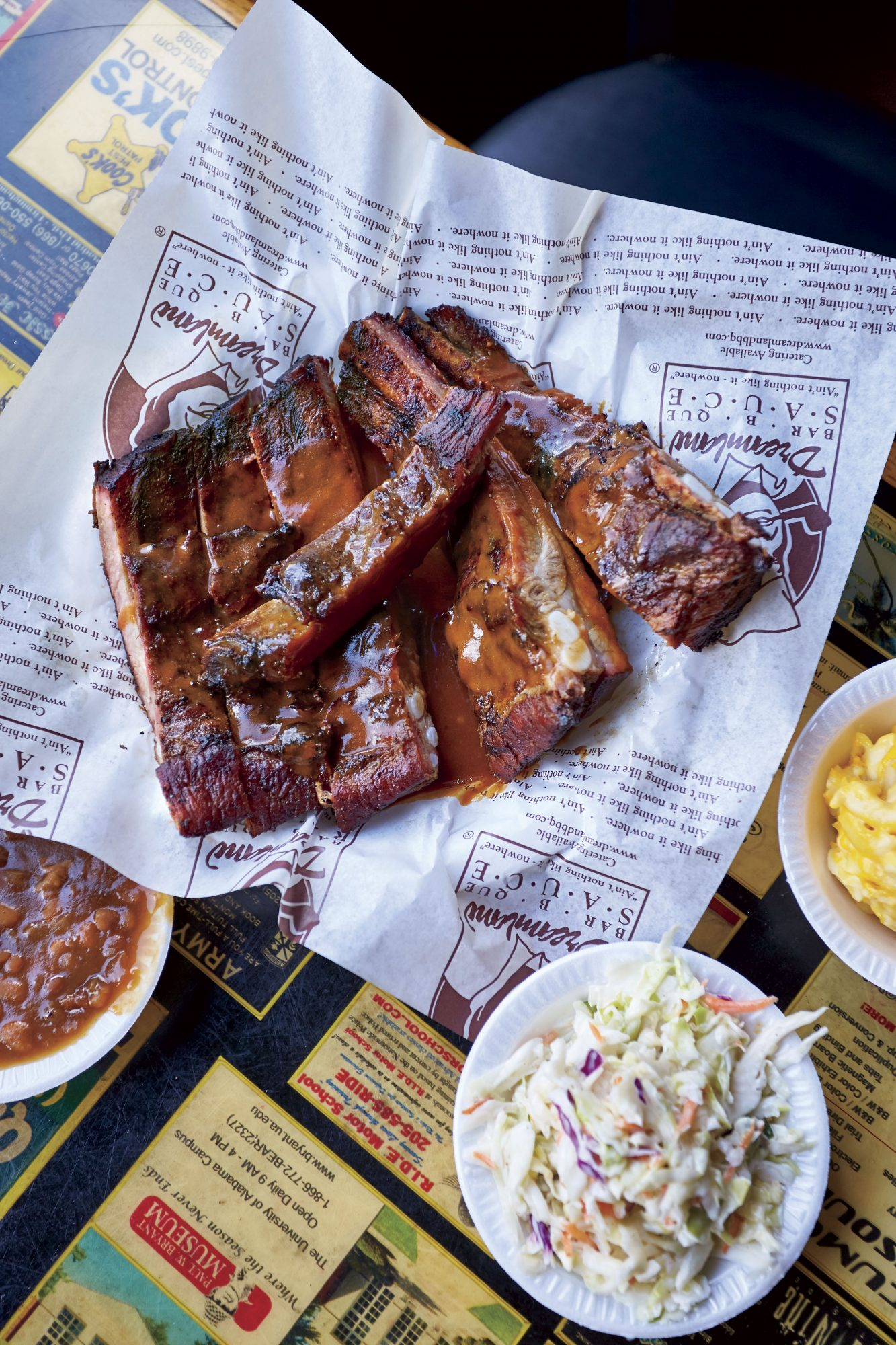 Dreamland Bar-B-Que Ribs