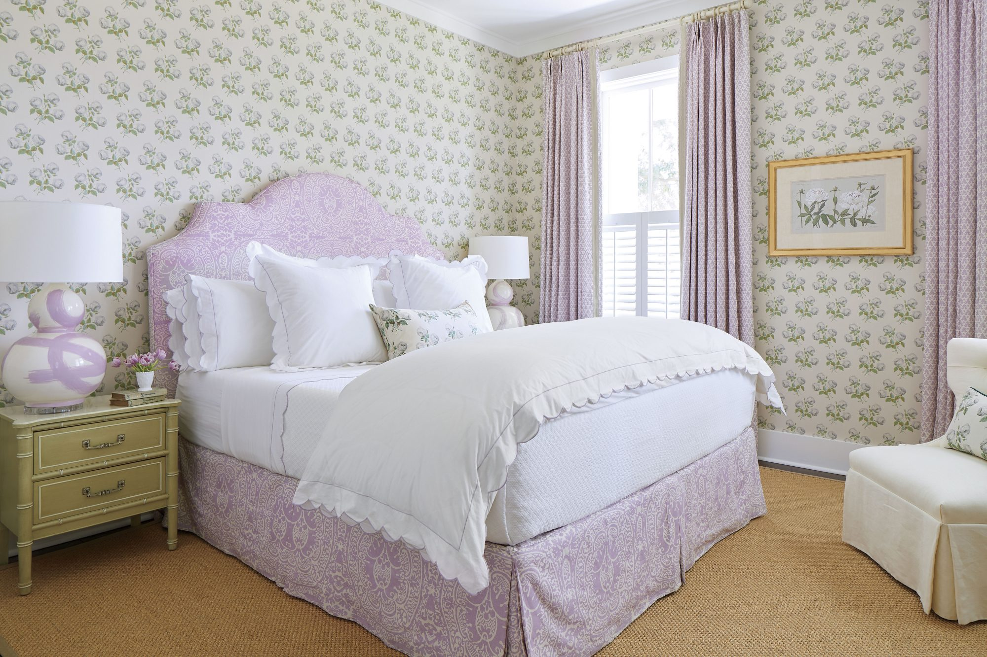 Julia Engel of Gal Meets Glam Charleston, SC Home Master Bedroom