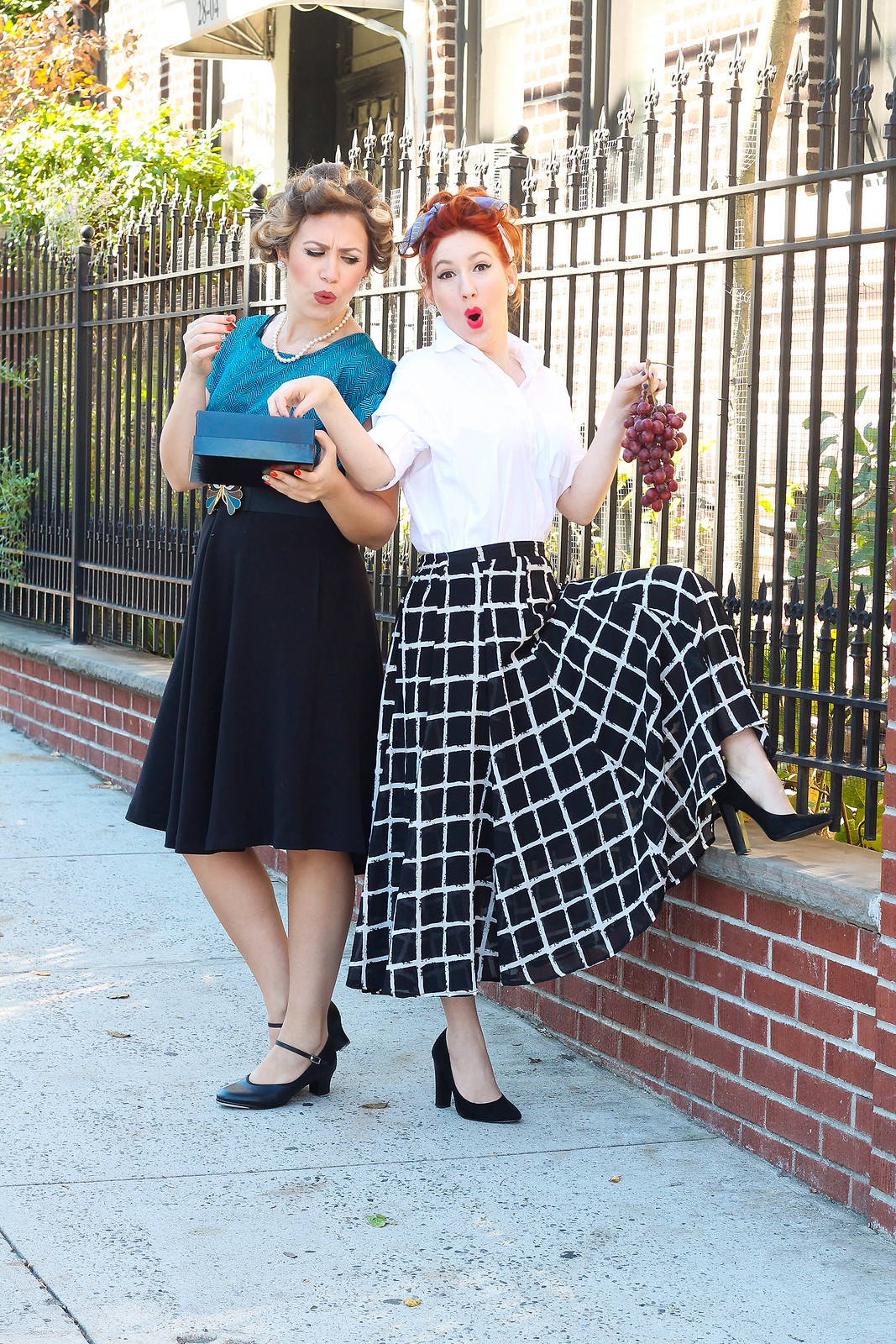 """Lucy & Ethel from """"I Love Lucy"""""""