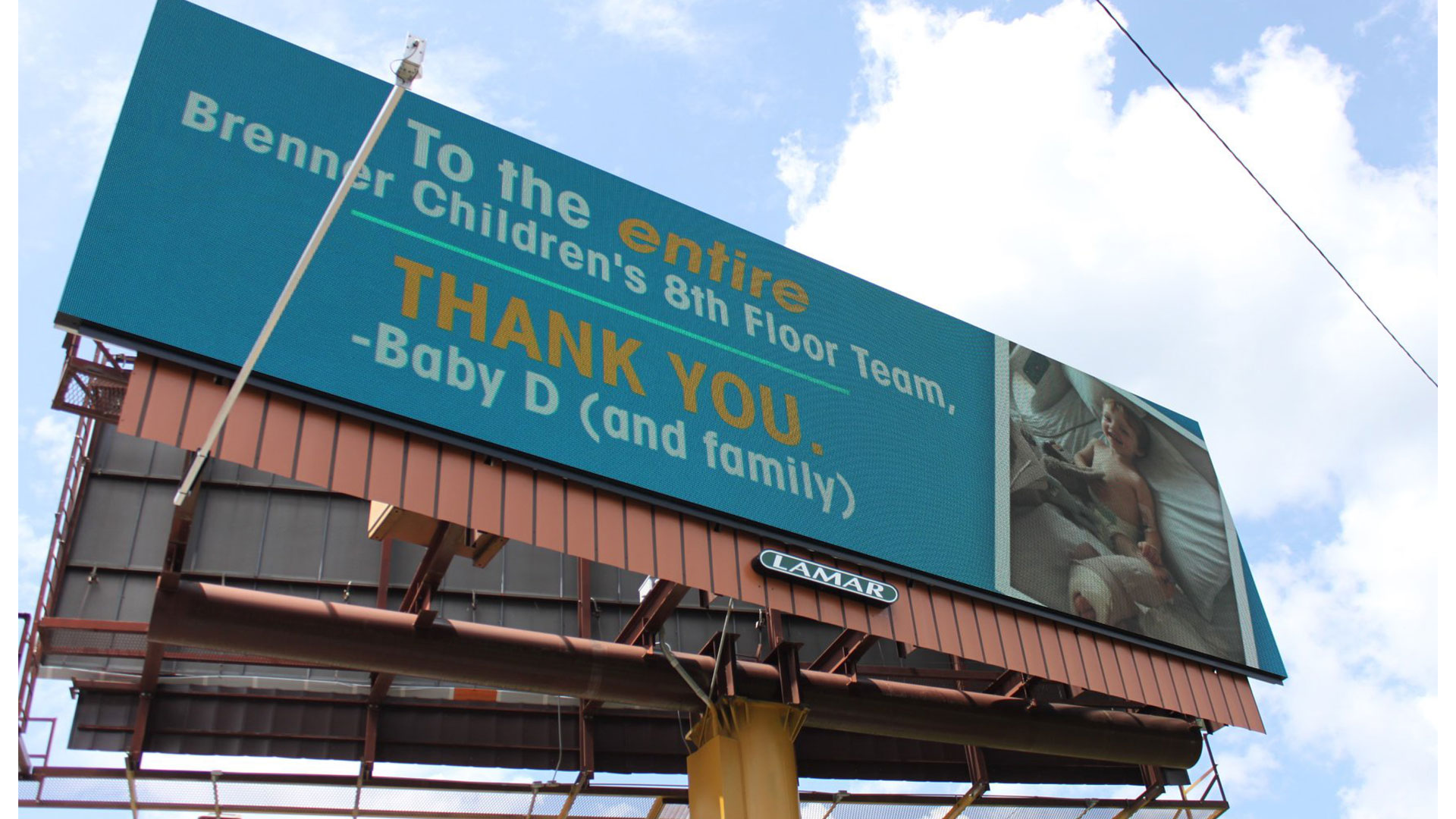 Hospital Billboard Thank You