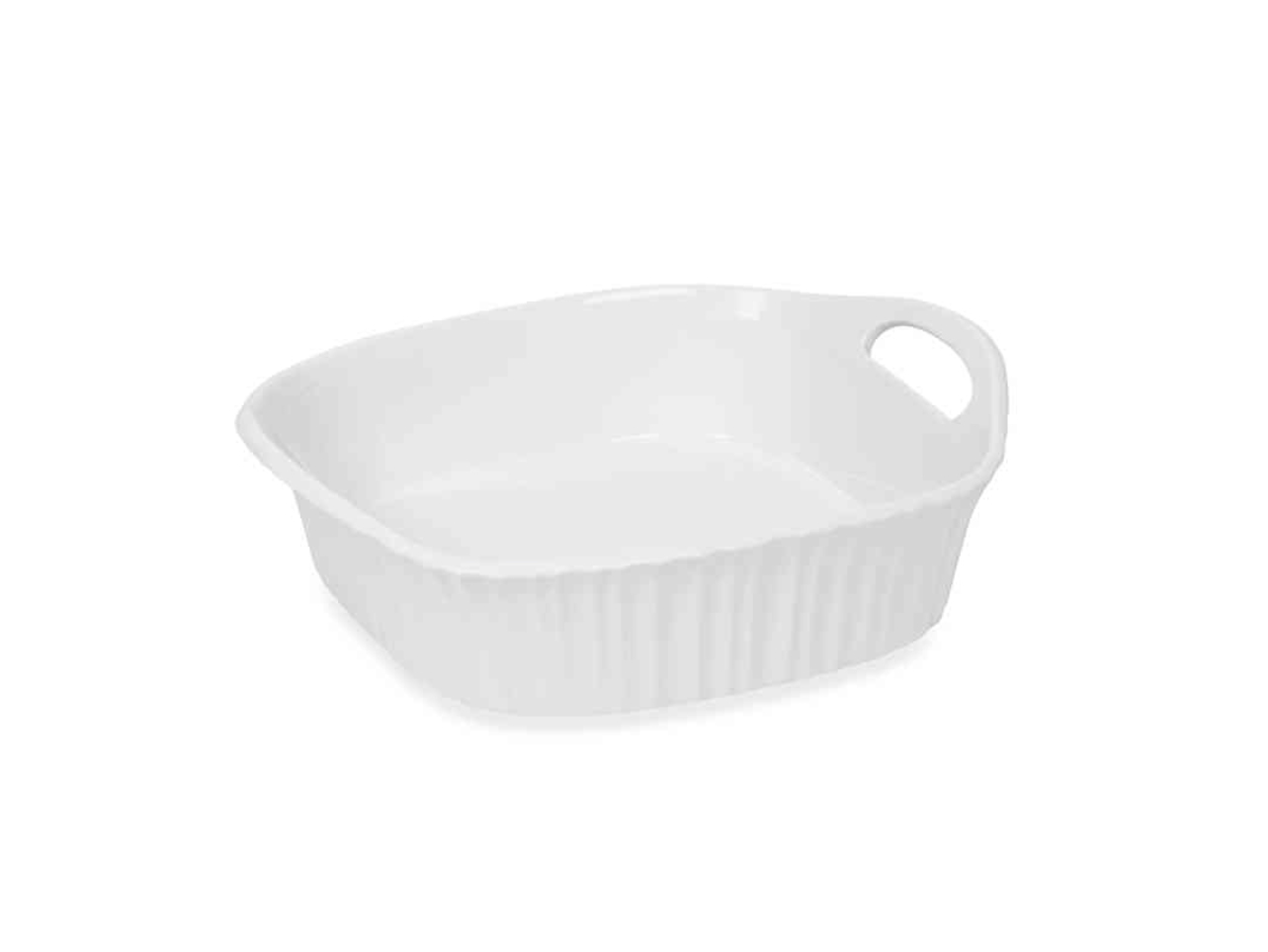CorningWare French White Square Baking Dish
