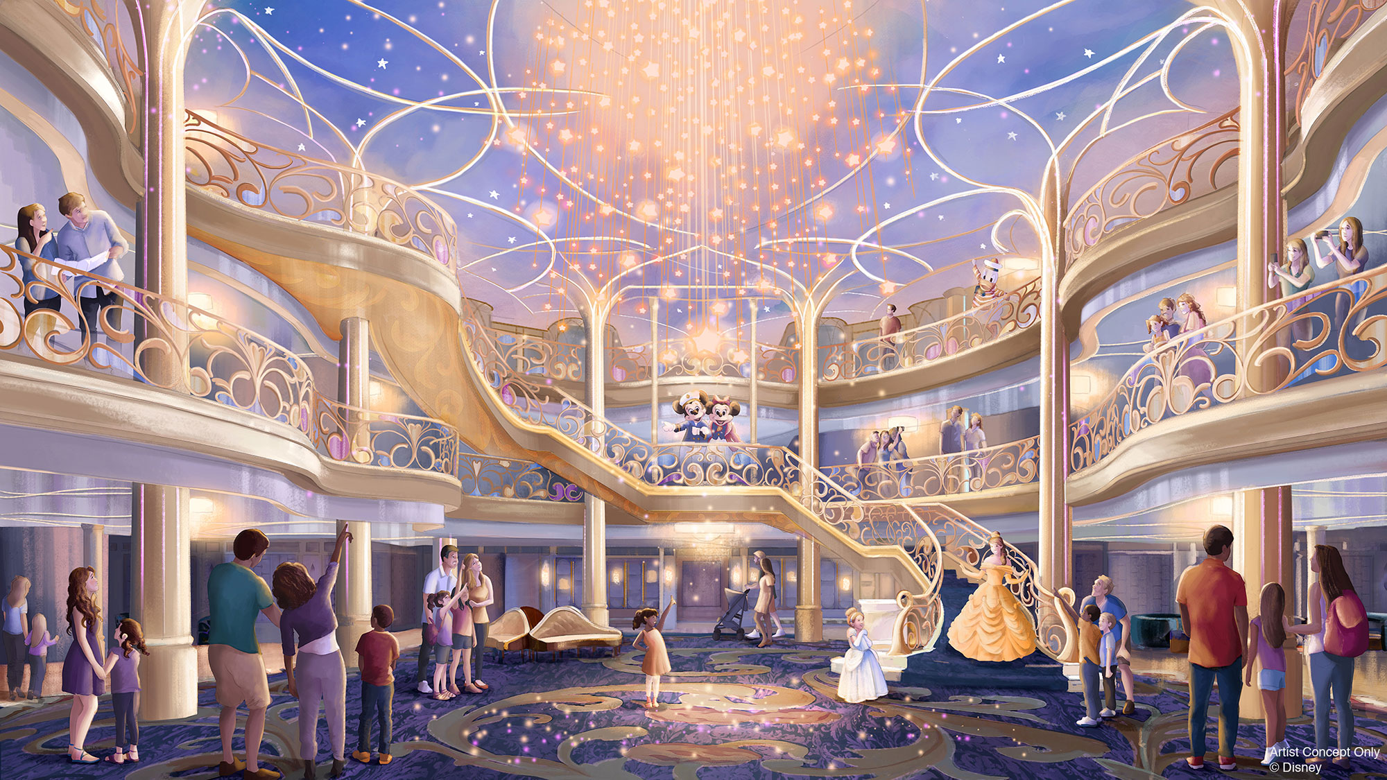 Disney Cruise Lines Reveals Newest Ship (and Island Getaway) — See the Disney Wish!