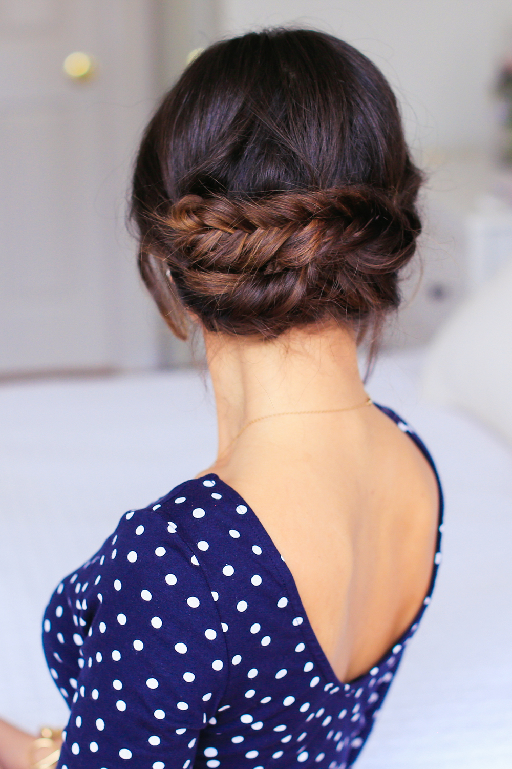 Double Fishtail Bun