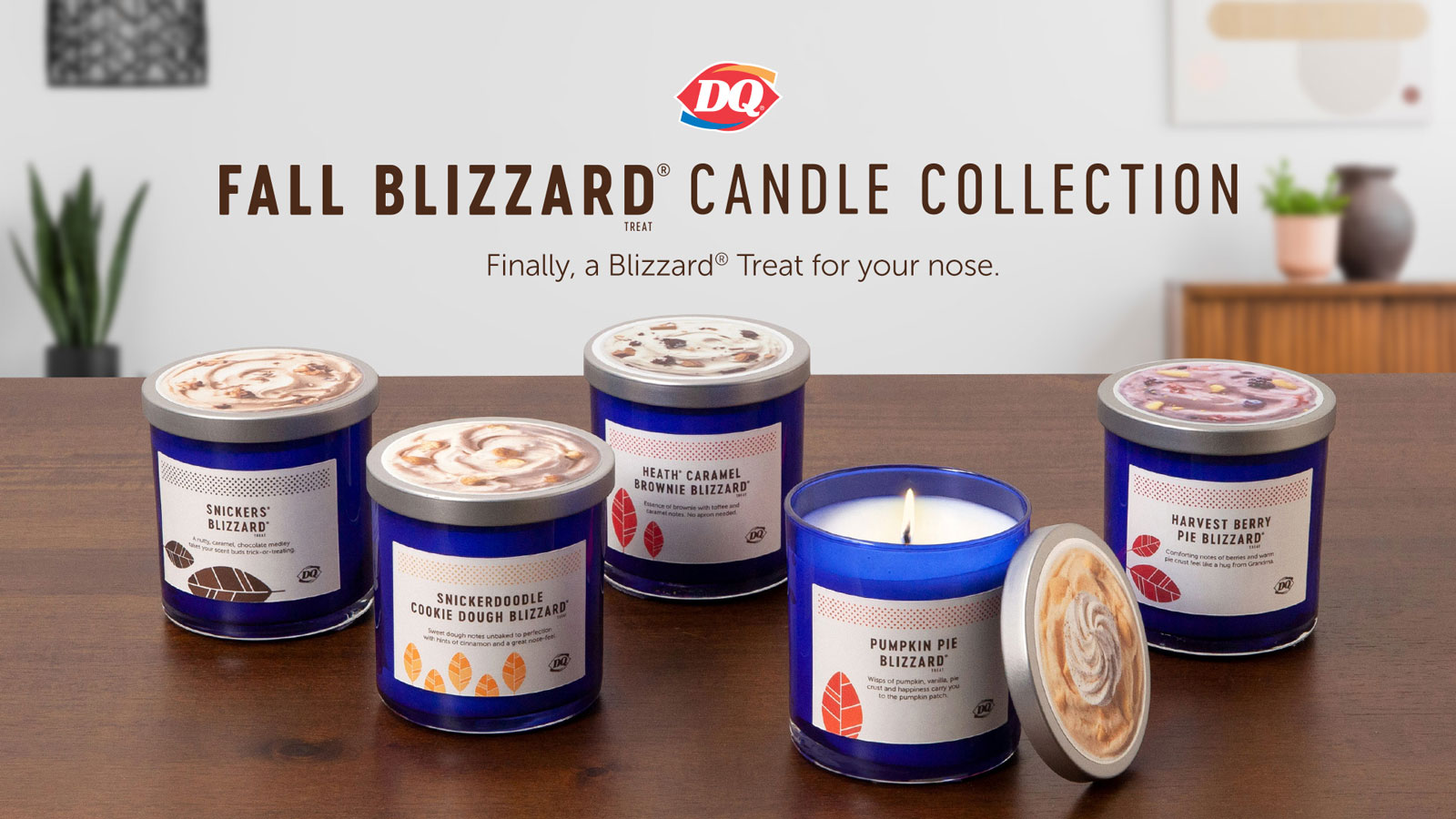 Dairy Queen Paired Its Seasonal Blizzards With Scented Candles dq-blizzard-candles-horiz-XL-BLOG0819