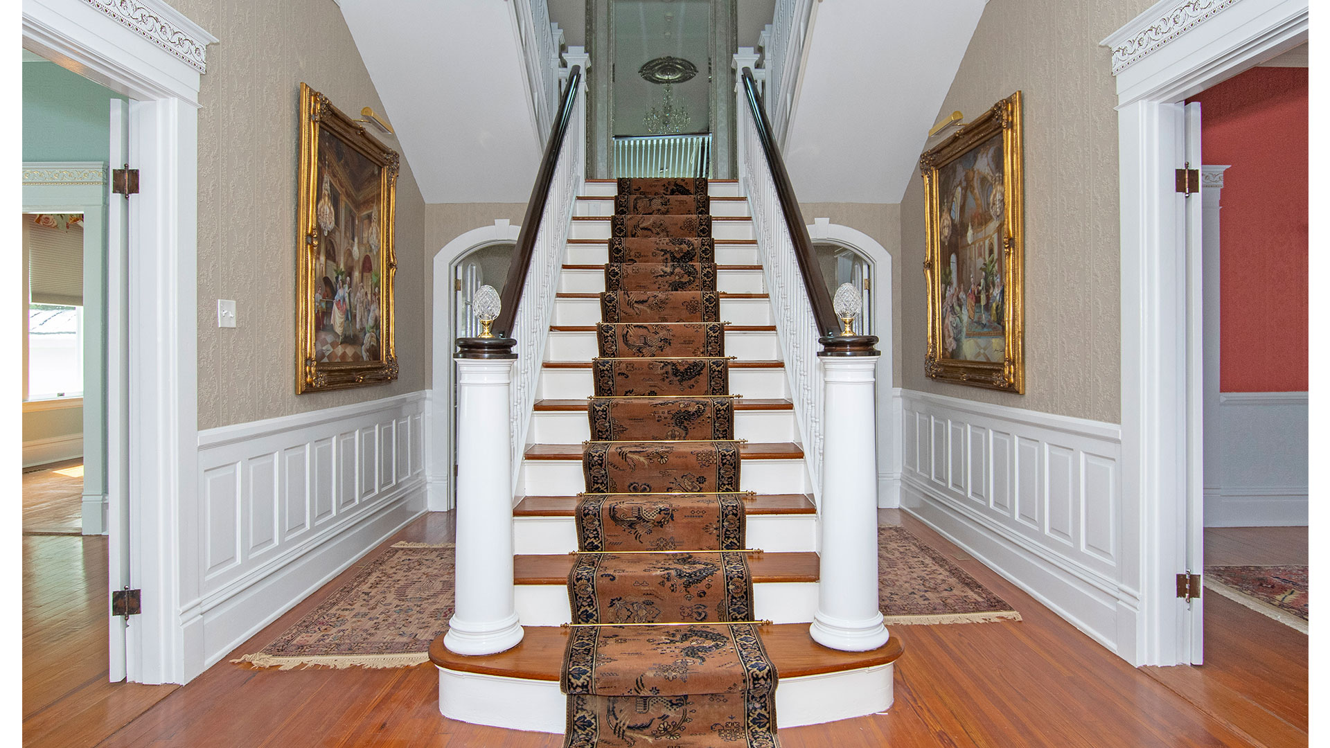 Dr Stanley House Four Oaks Stairs
