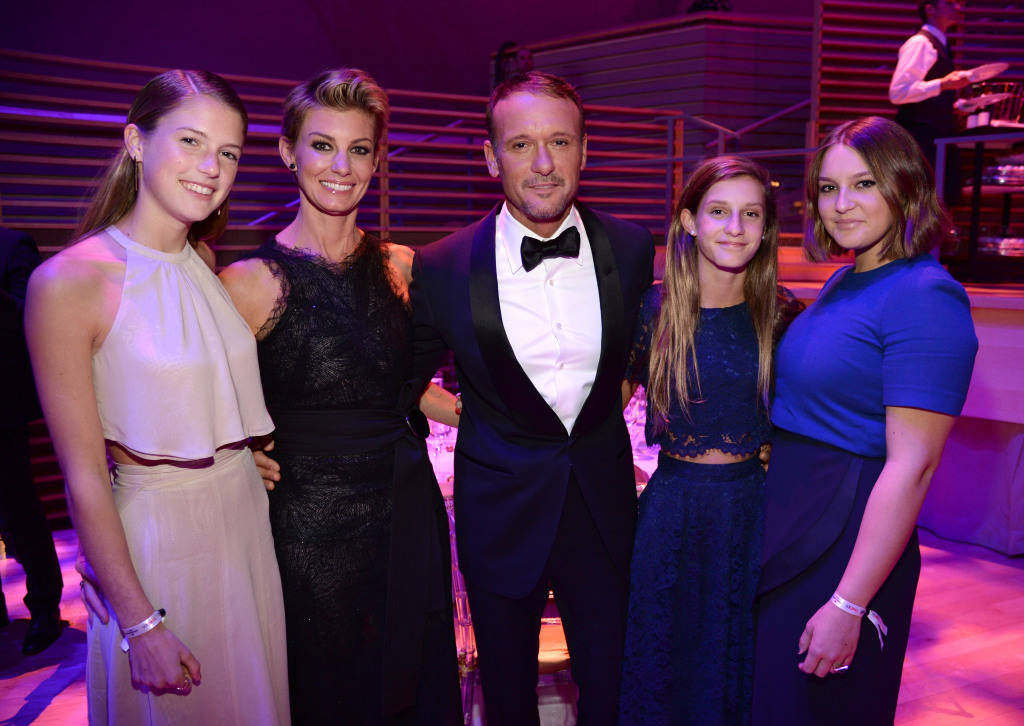 Still in Love After 21 Years! Tim McGraw & Faith Hill Say Date Nights, Prayer and Alone Time Keep Their Marriage Strong faith-tim-children