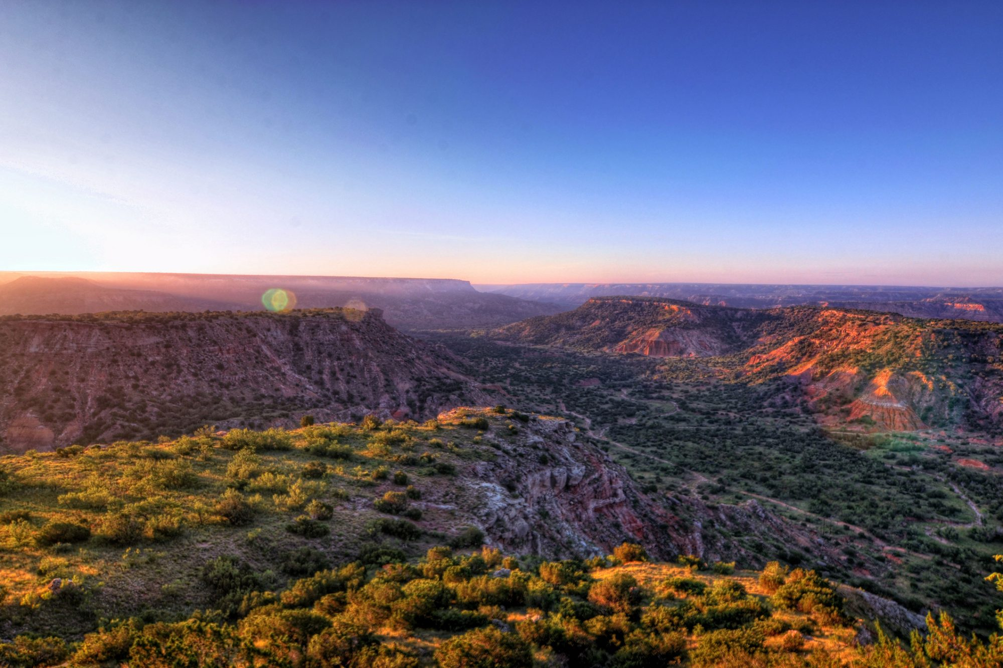 Palo Duro Canyon in Texas