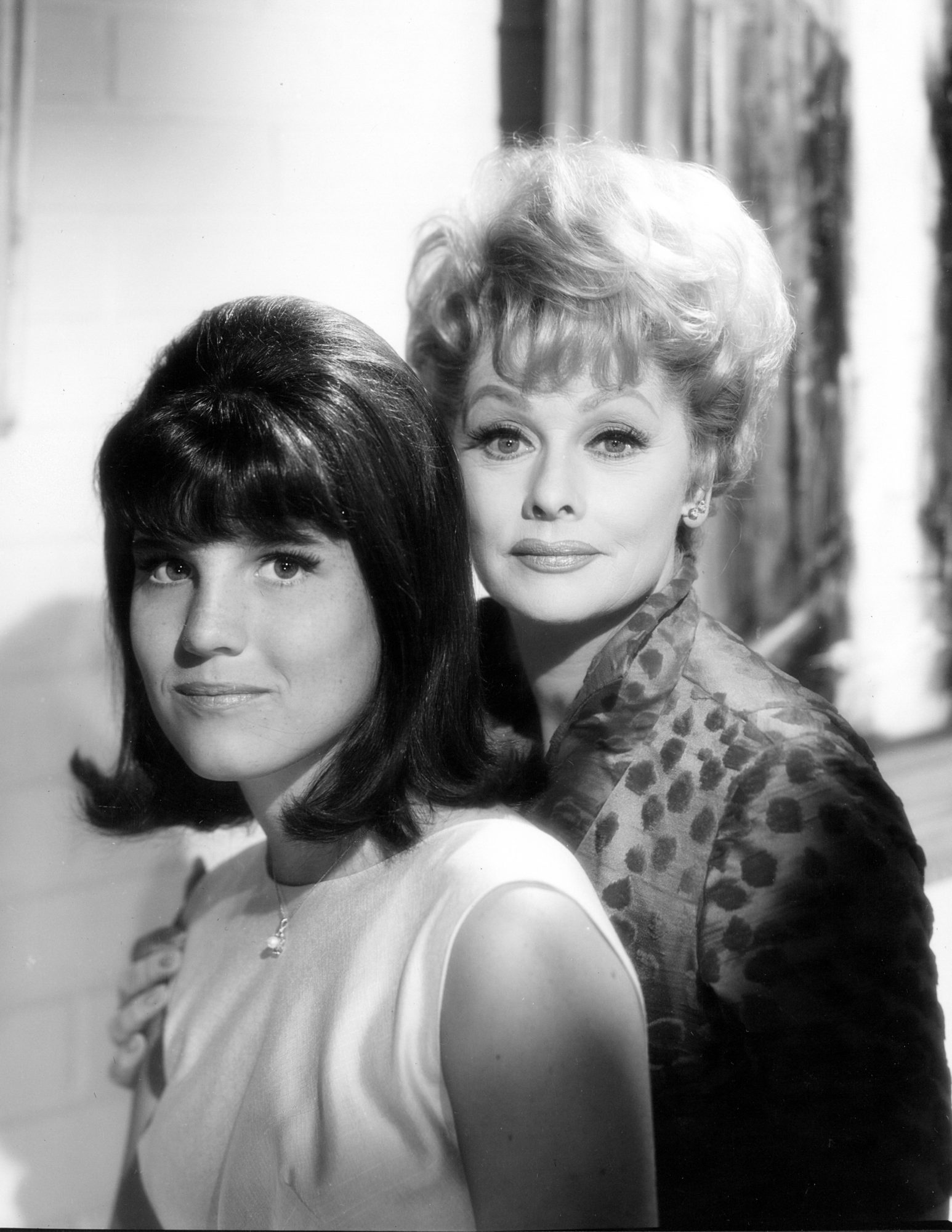 Lucille Ball and Daughter Lucie Arnaz