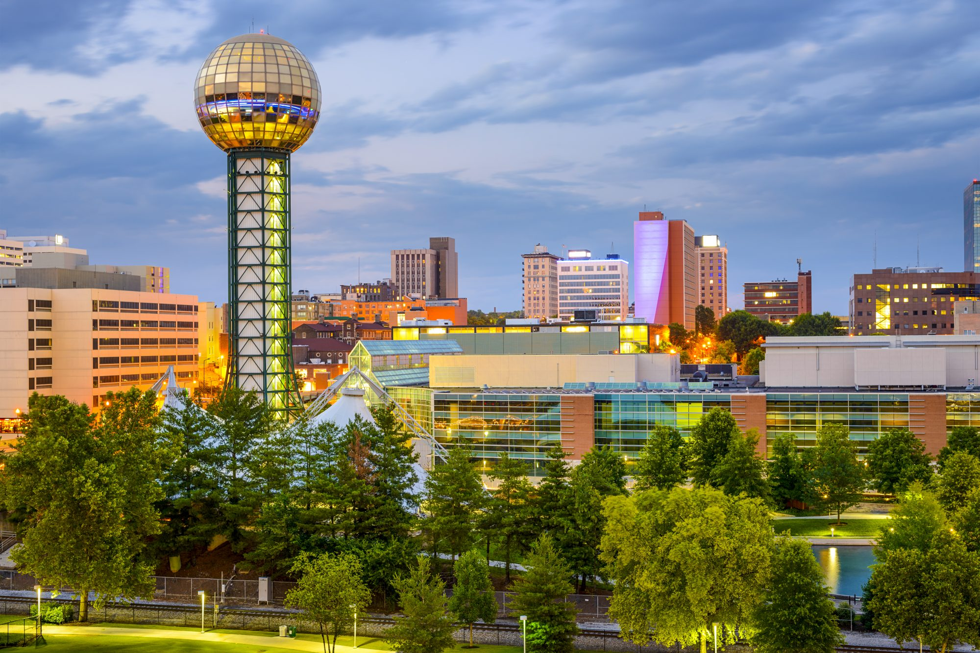 10. Knoxville, Tennessee