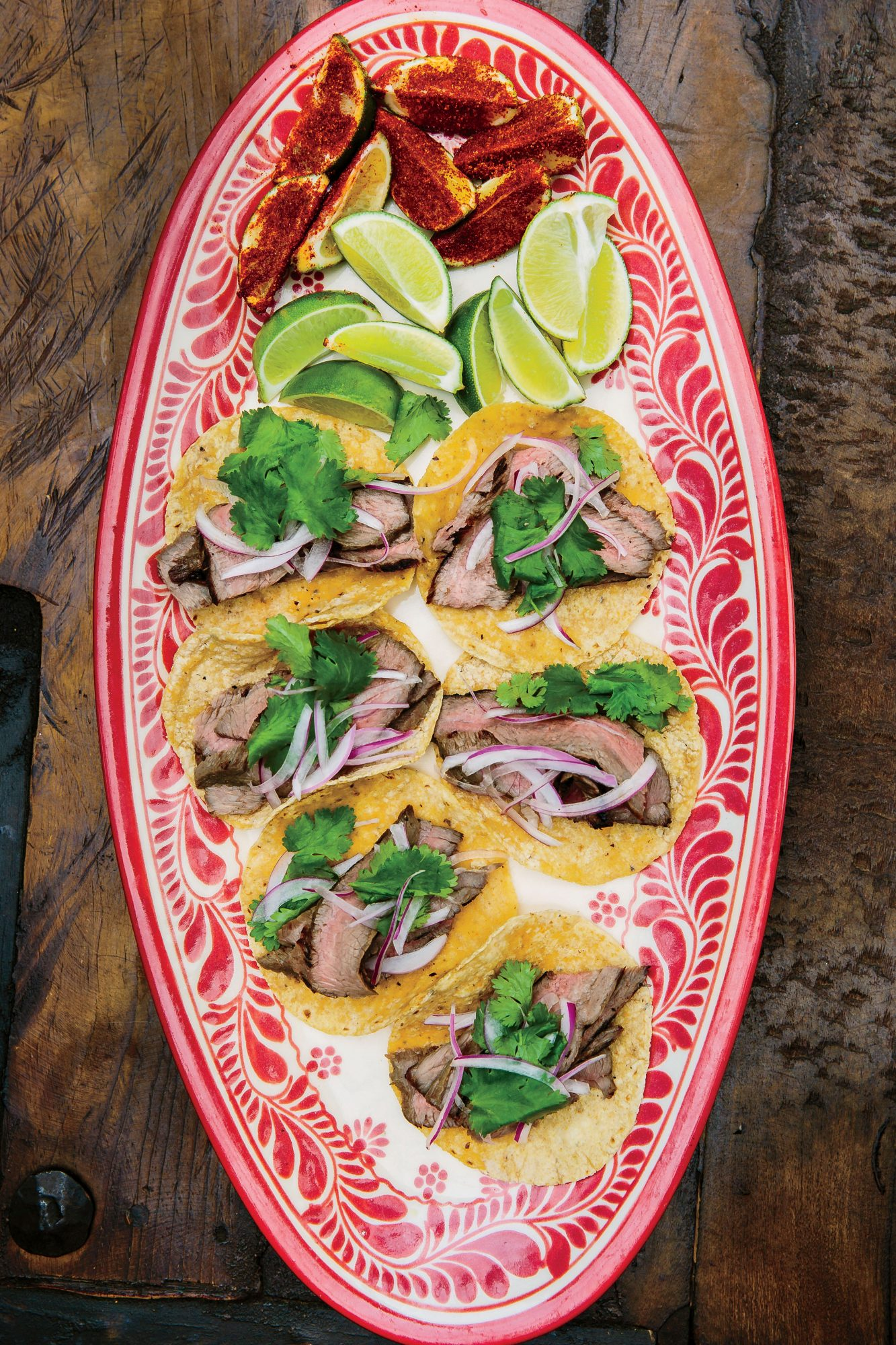 Grilled Sirloin Tacos Recipe Johnny Hernandez