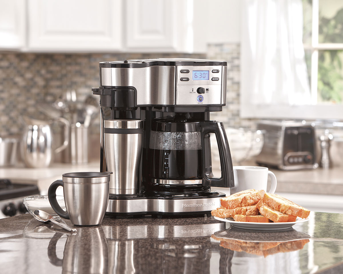 Hamilton Beach 2-Way Brewer 49980A