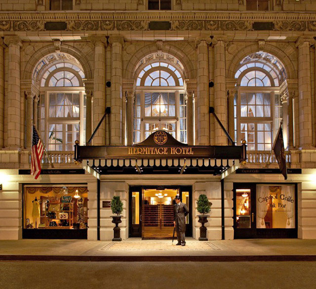 7. The Hermitage Hotel (Nashville, Tennessee)