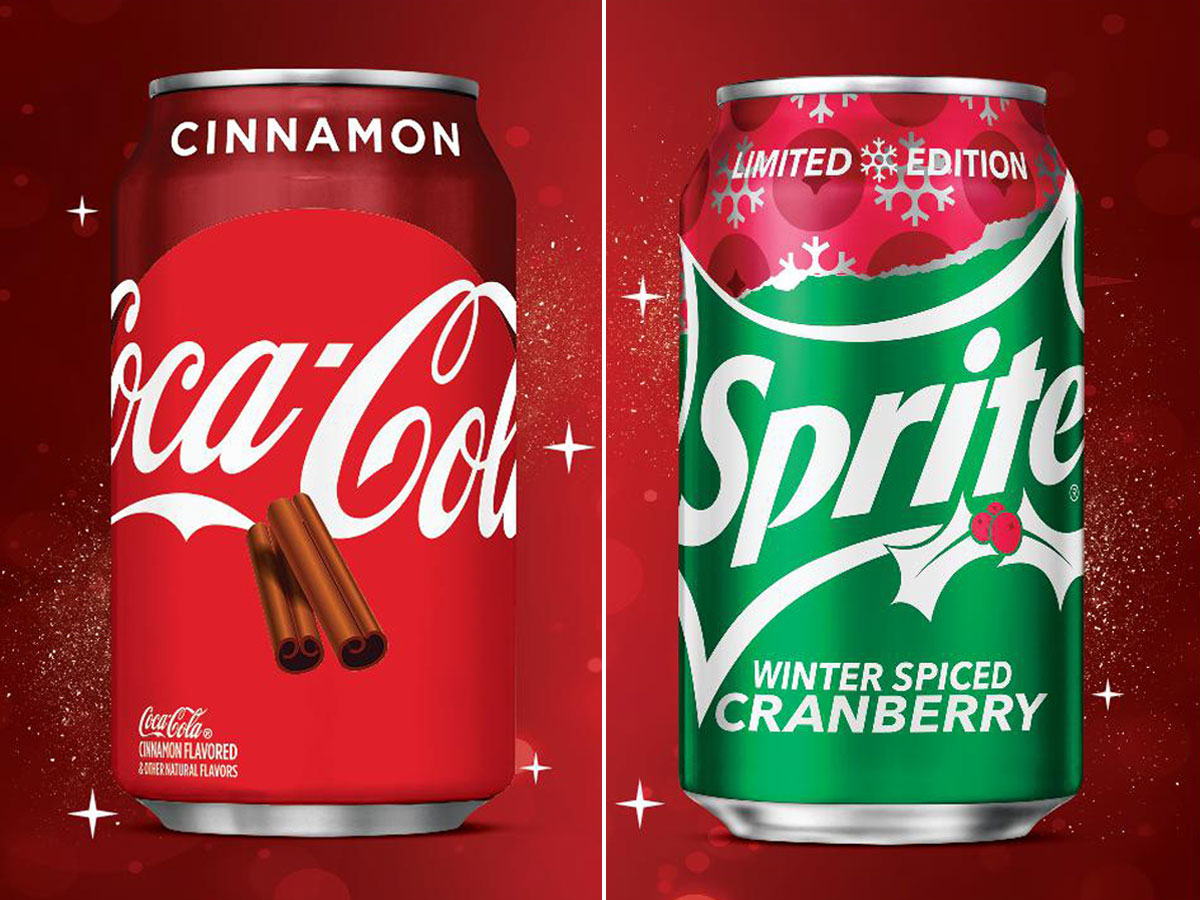 Coca-Cola Cinnamon and Sprite Winter Spiced Cranberry Will Arrive This Fall