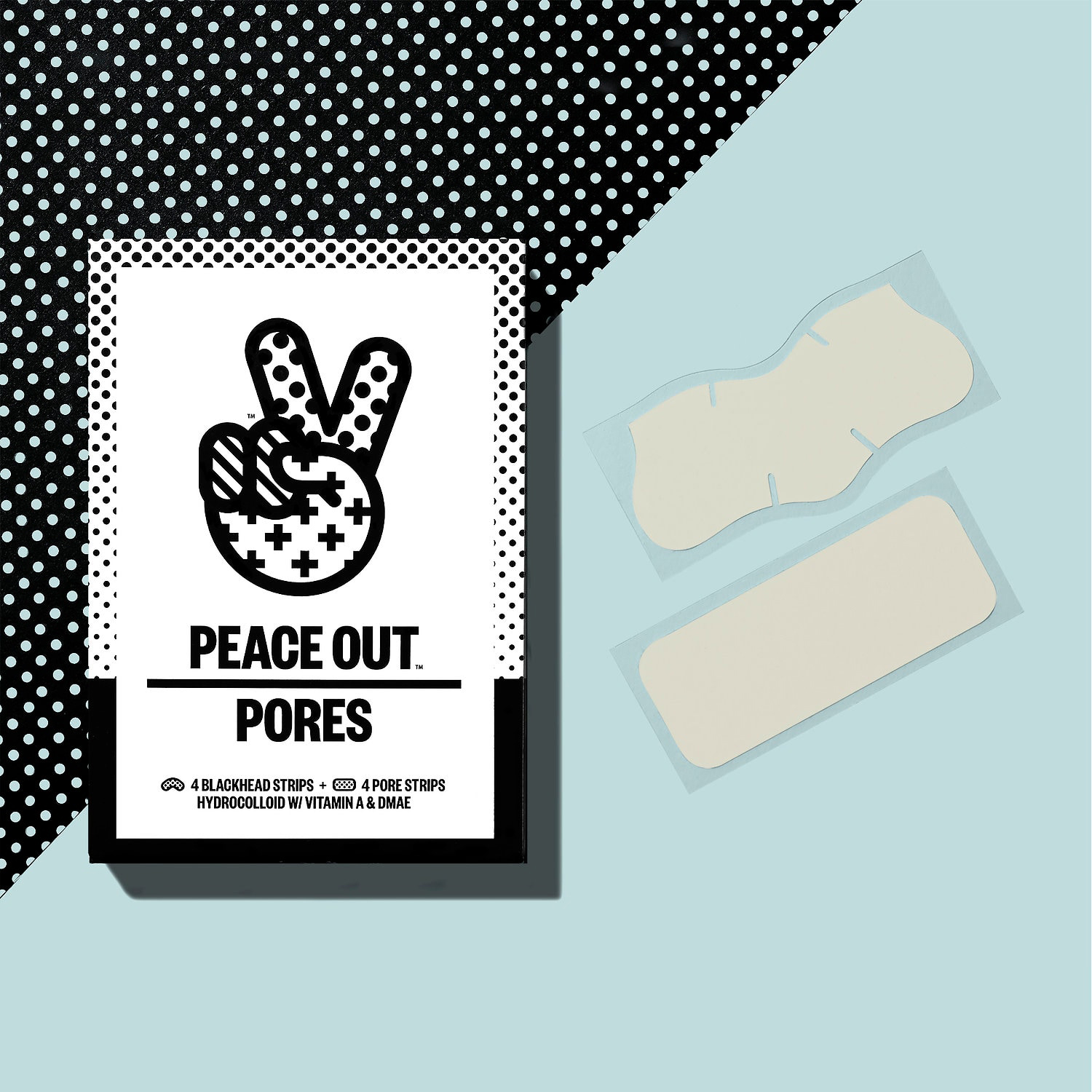 Peace Out Pore Treatment Strips