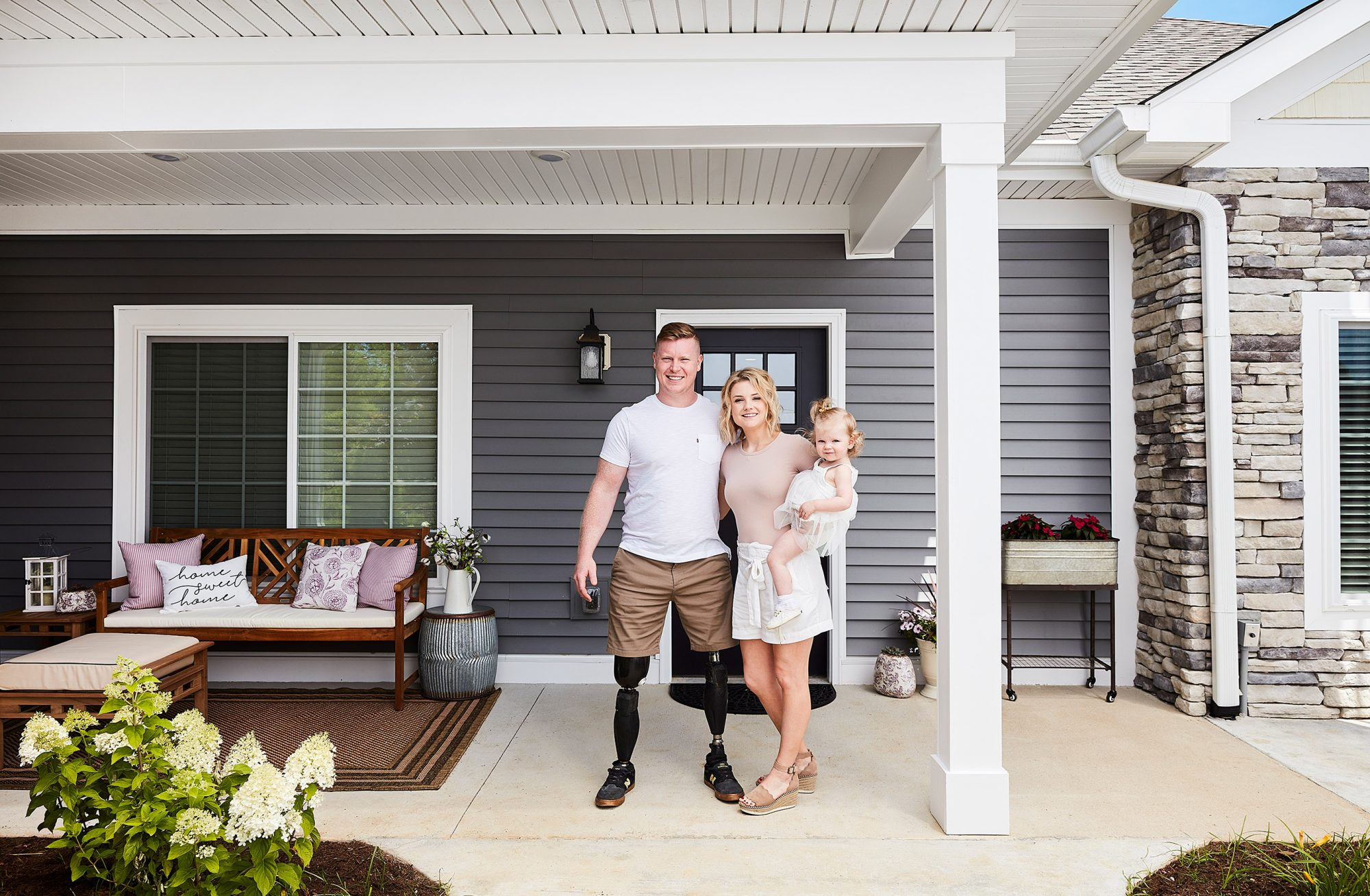 Homes for Our Troops x Wayfair House