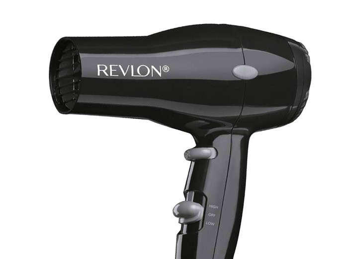 This Tiny Revlon Hair Dryer Became an Amazon Best-Seller Overnight — and It's Only $10 090519-revlon-1875w-compact-lightweight-hair-dryer-embed