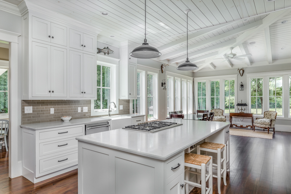 Watkinsville Farmhouse Open Floor Plan