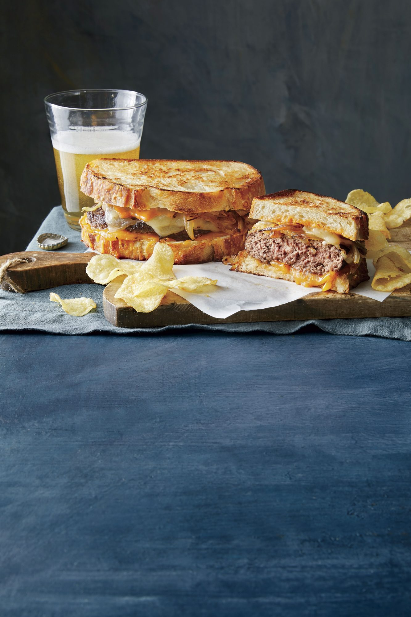 Diner-Style Classic Patty Melts