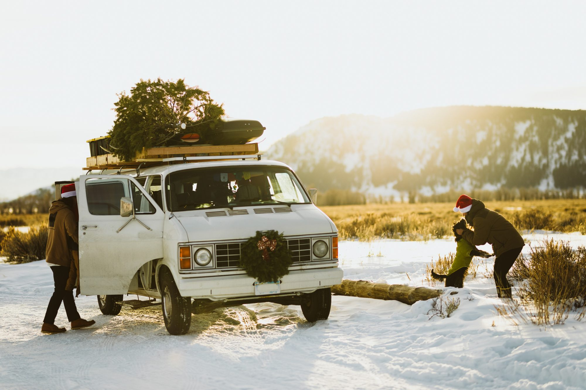 Take a Christmas Road Trip