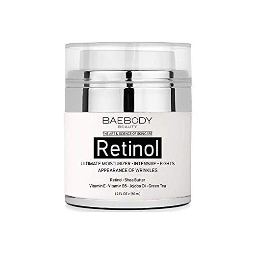 Baebody Retinol Moisturizer Cream for Face and Eyes