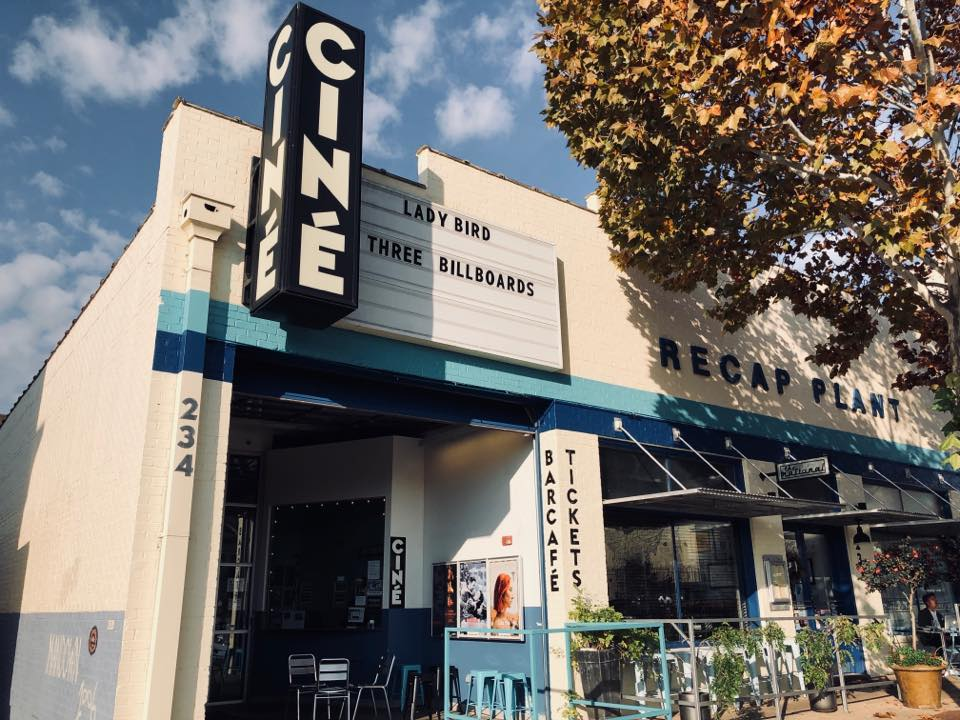 Cozy up for a movie at Ciné