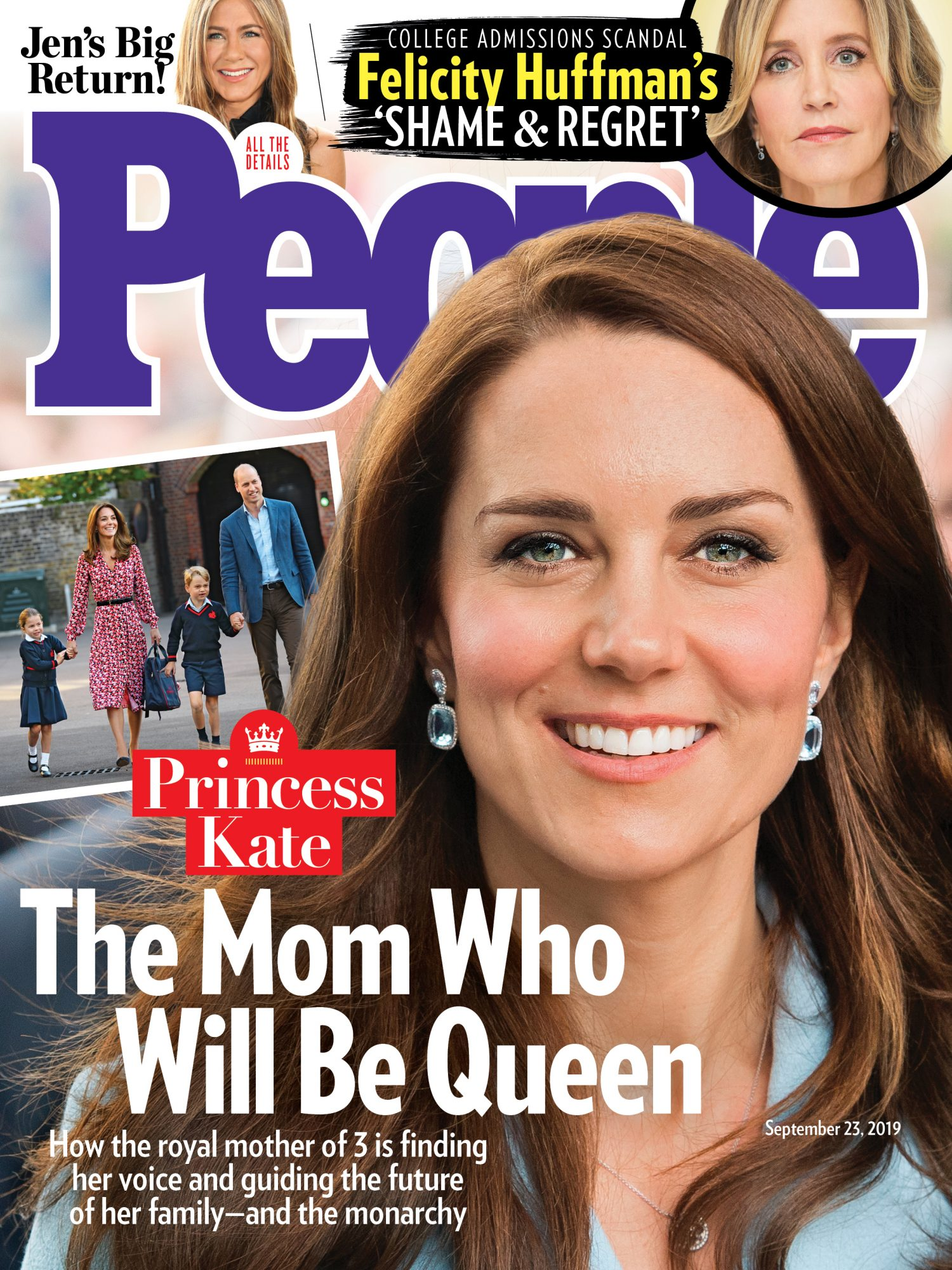 9/23 Cover featuring Princess Kate