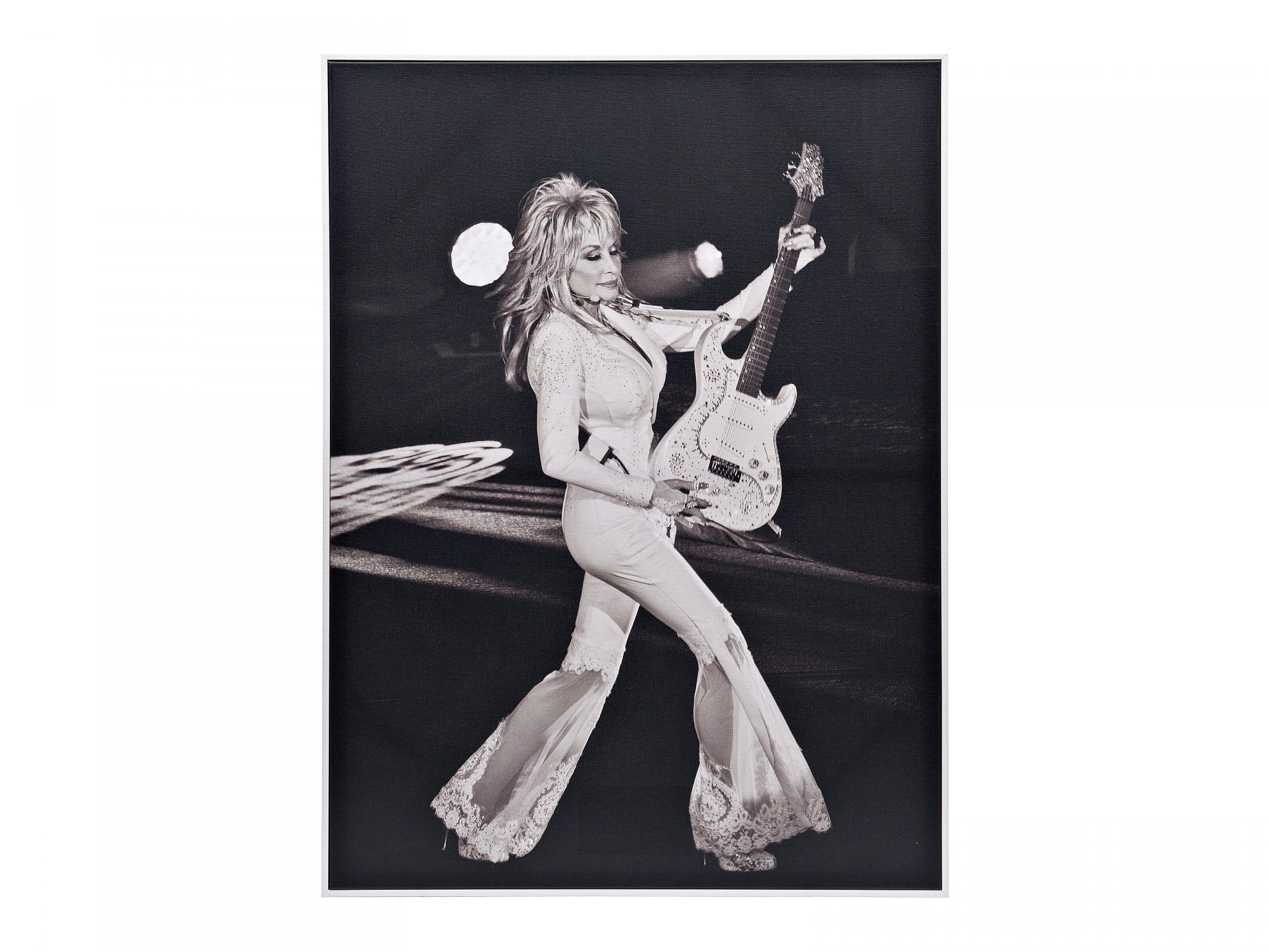 Dolly Parton Kirkland's Art Collection Black and White Picture