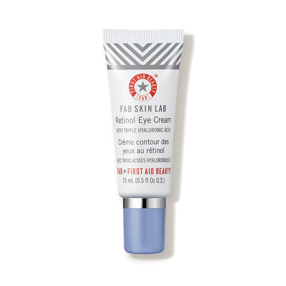 First Aid Beauty FAB Skin Lab Retinol Eye Cream with Triple Hyaluronic Acid