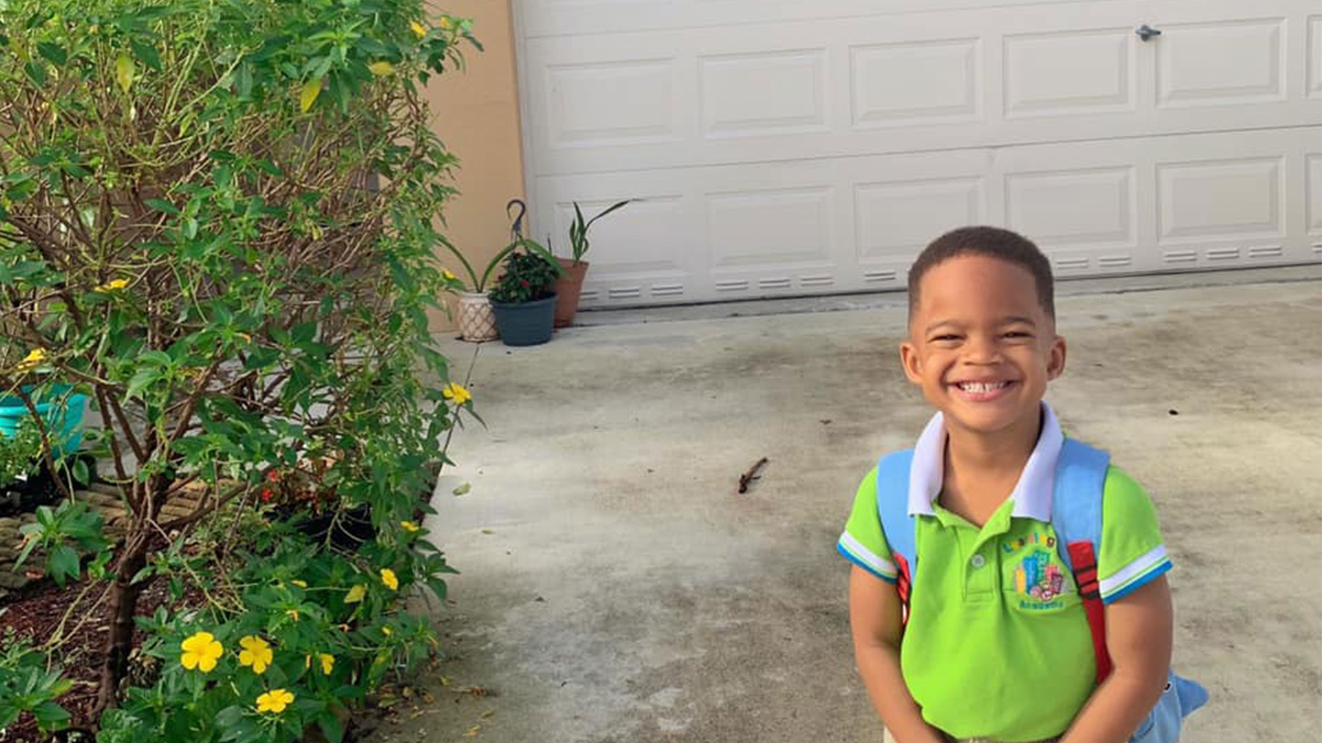 Makai Simmons First Day