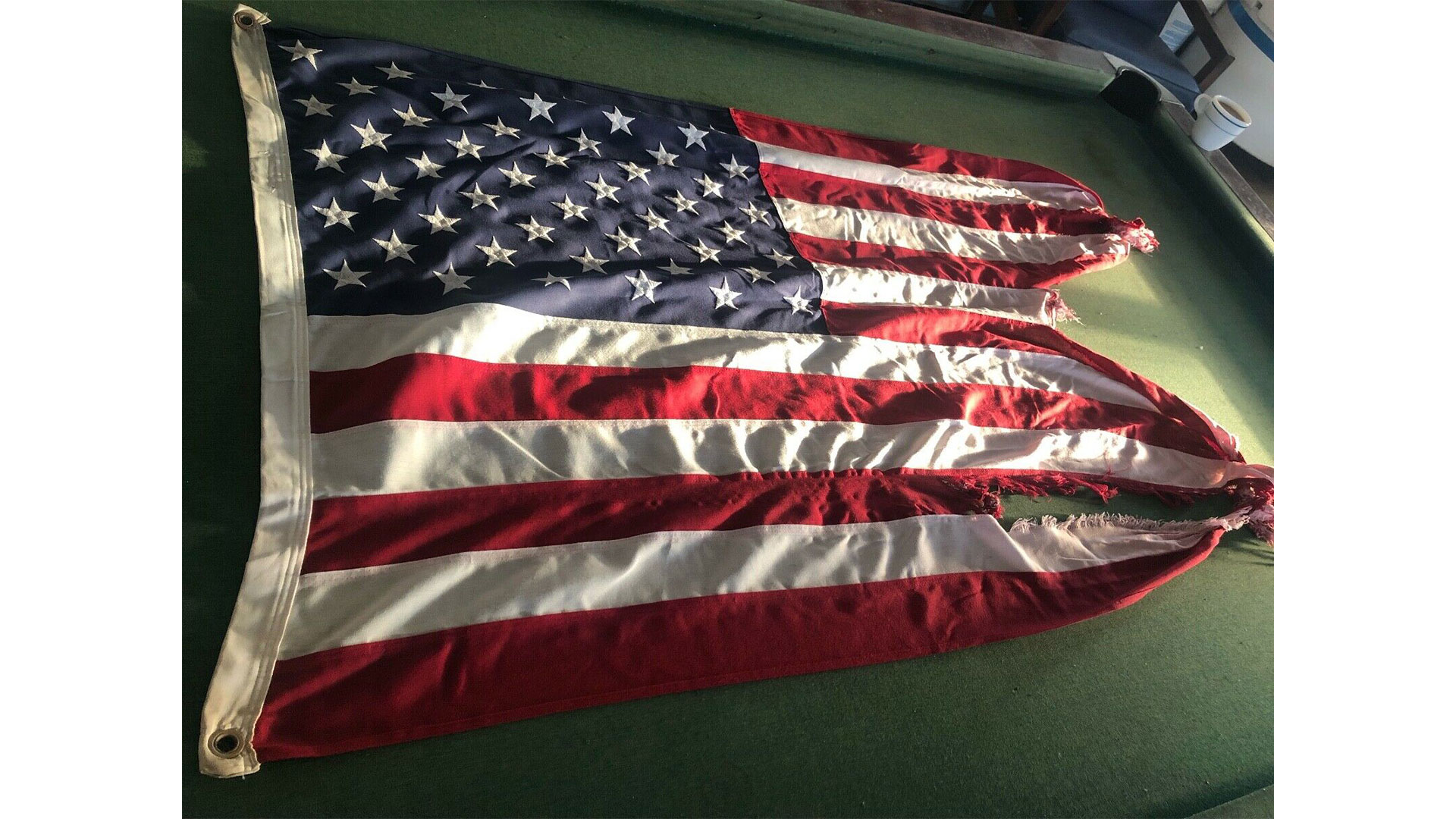 Frying Pan Shoals Light Tower Flag Steve Auction