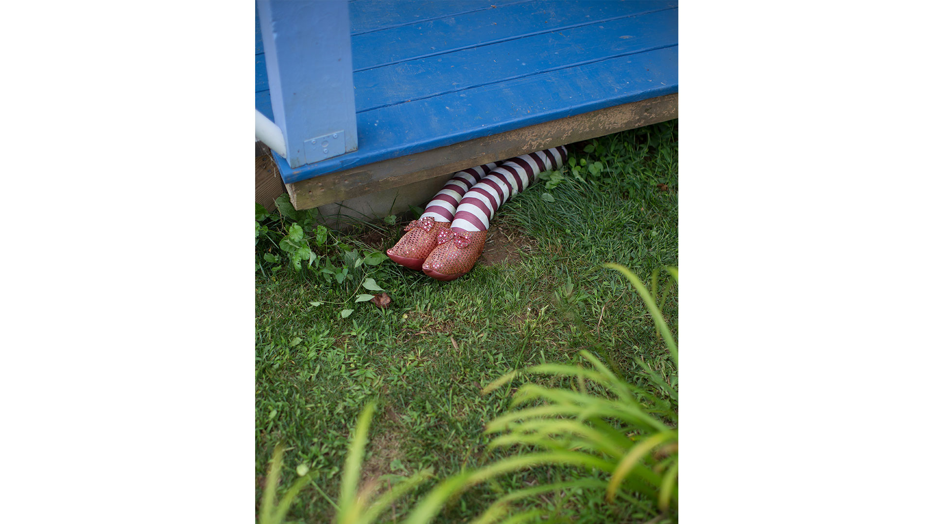 Wizard of Oz Tiny House Ruby Slippers