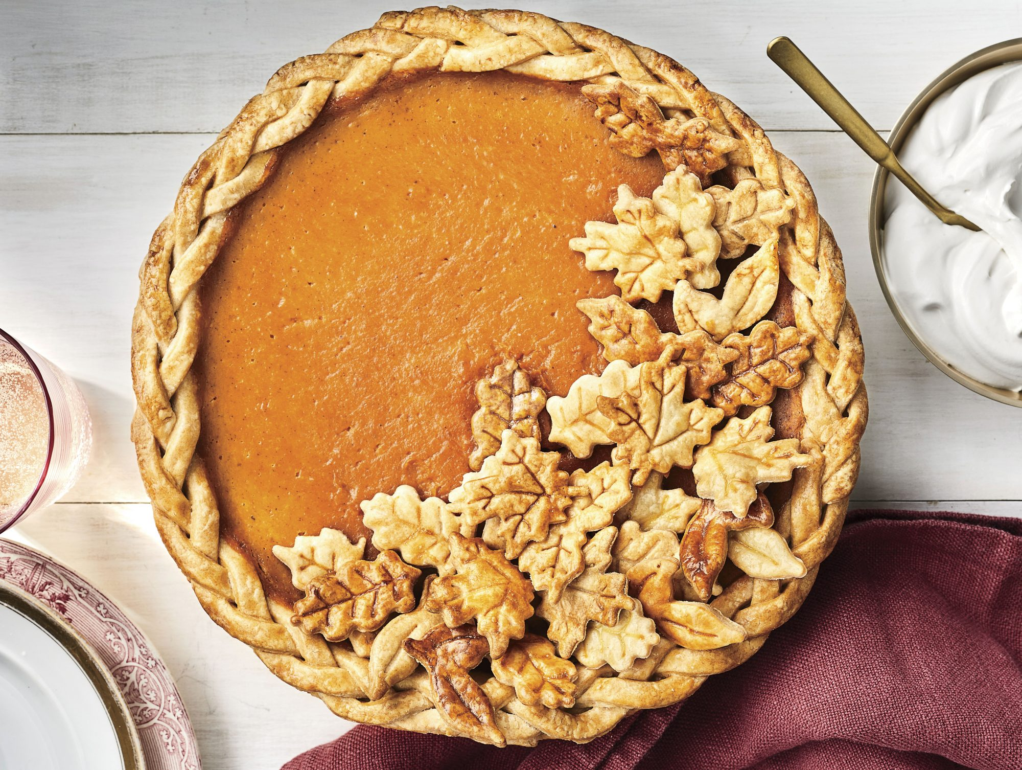 Dairy-Free Coconut-Pumpkin Pie