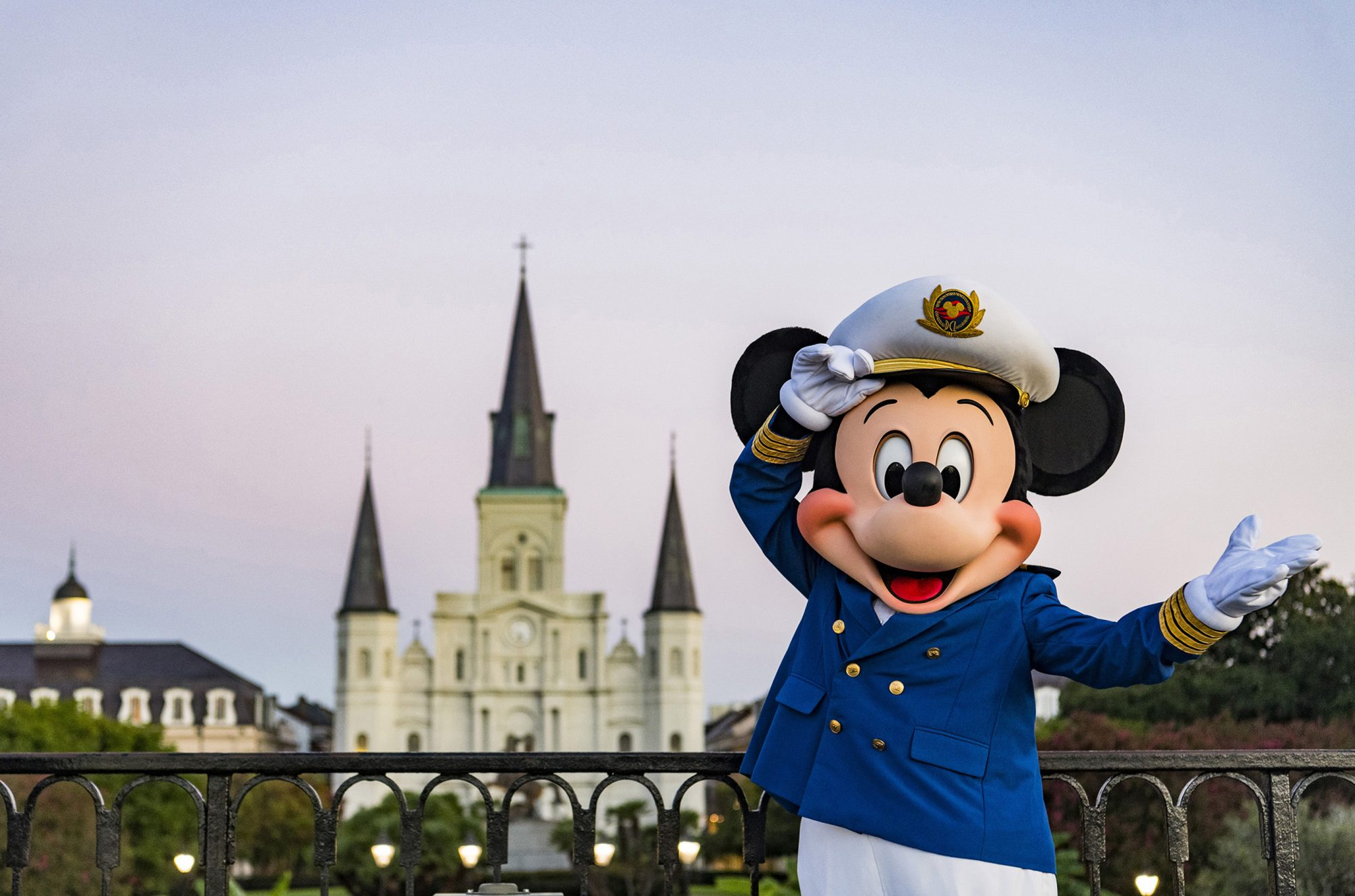 Captain Mickey in New Orleans