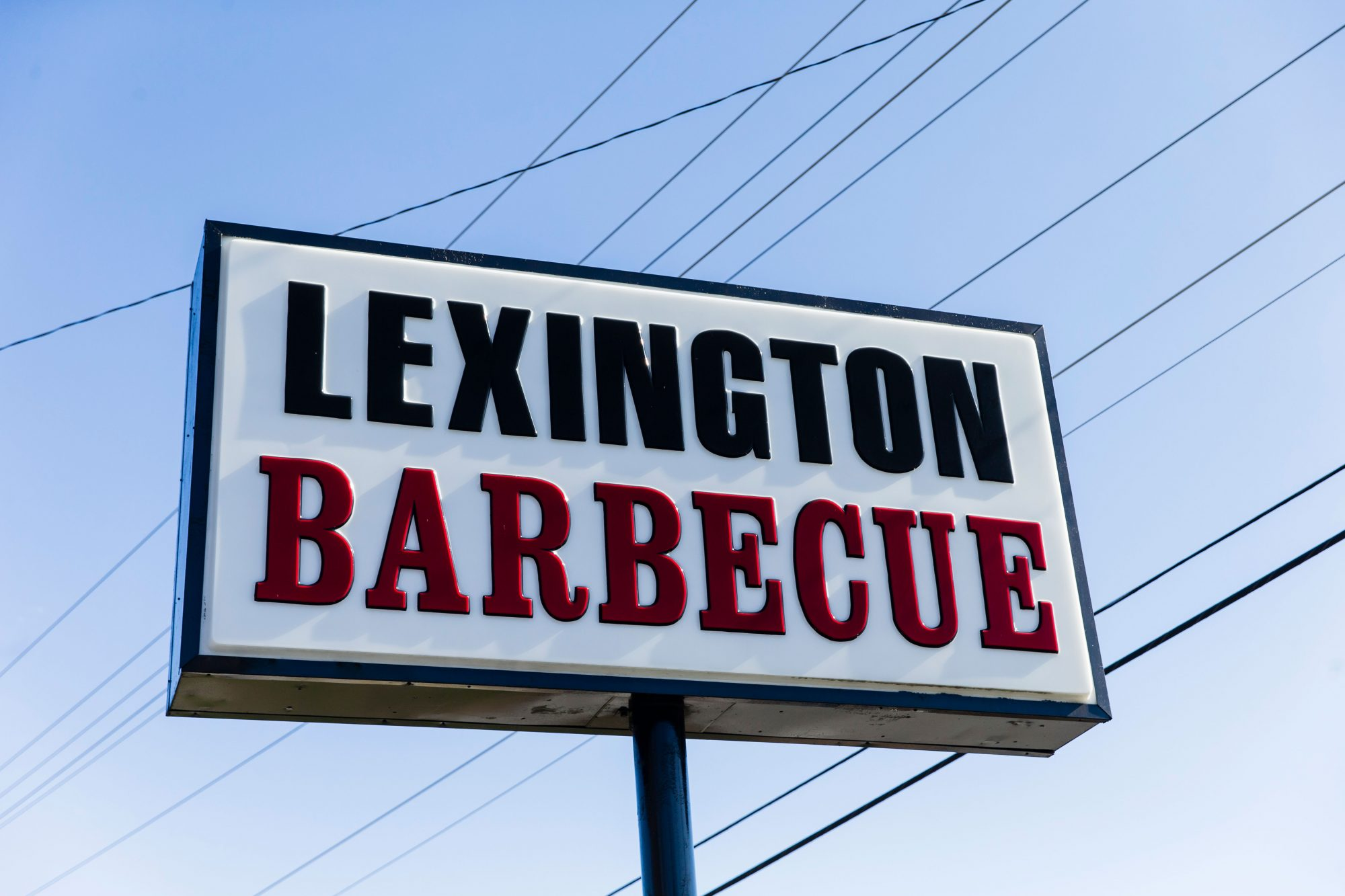 Lexington Barbecue Sign in Lexington, NC