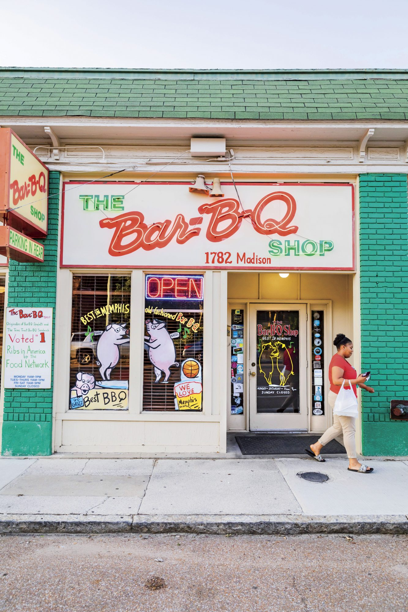 The Bar-B-Q Shop in Memphis, TN