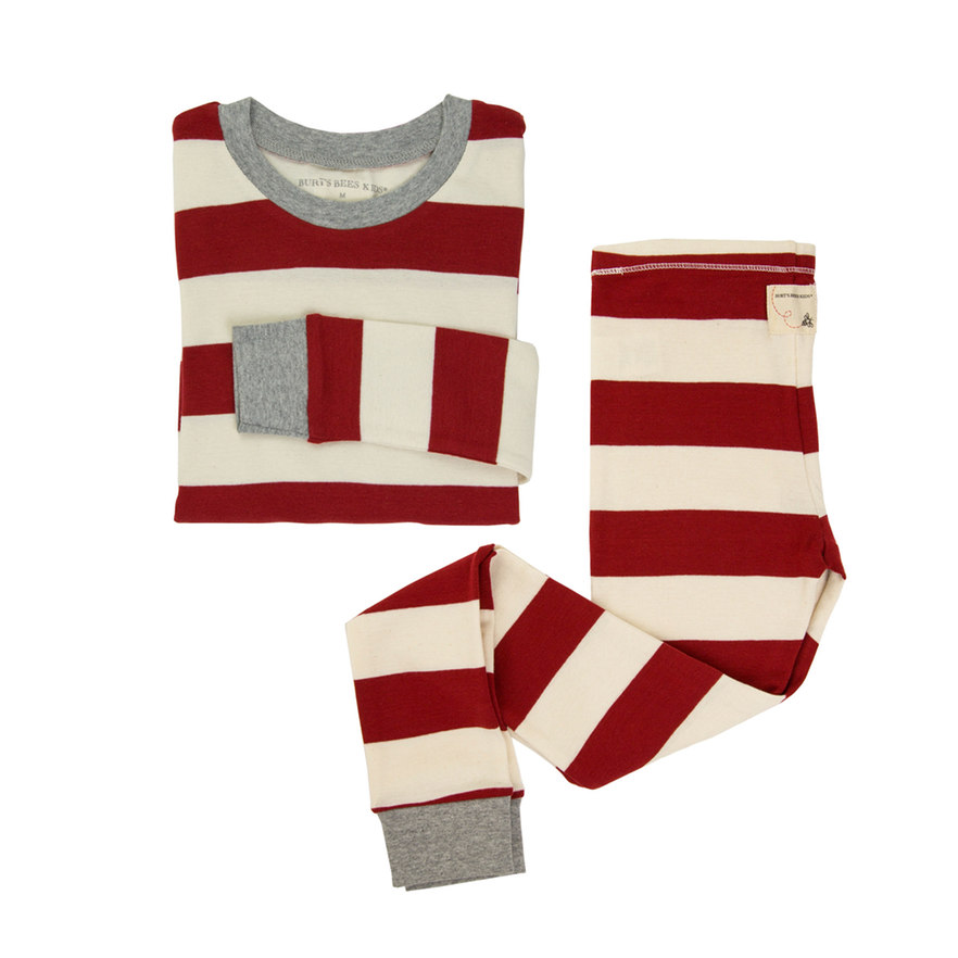 Candy Cane Striped PJ Set