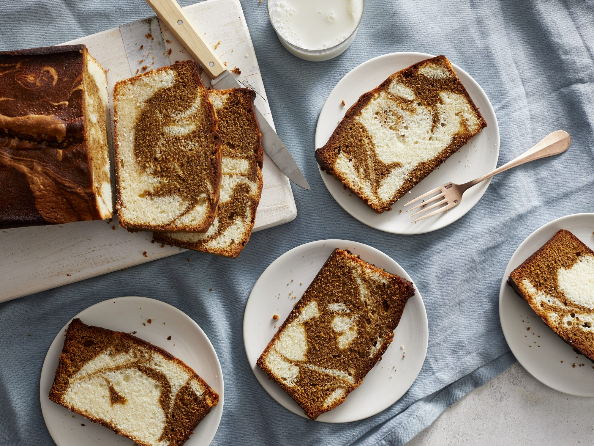 Marble Molasses Cake Southern Living