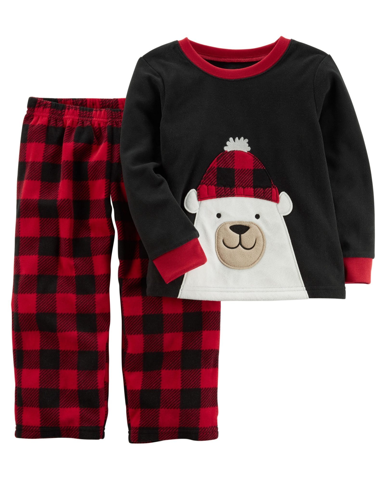 Boys' Fleece Polar Bear PJs