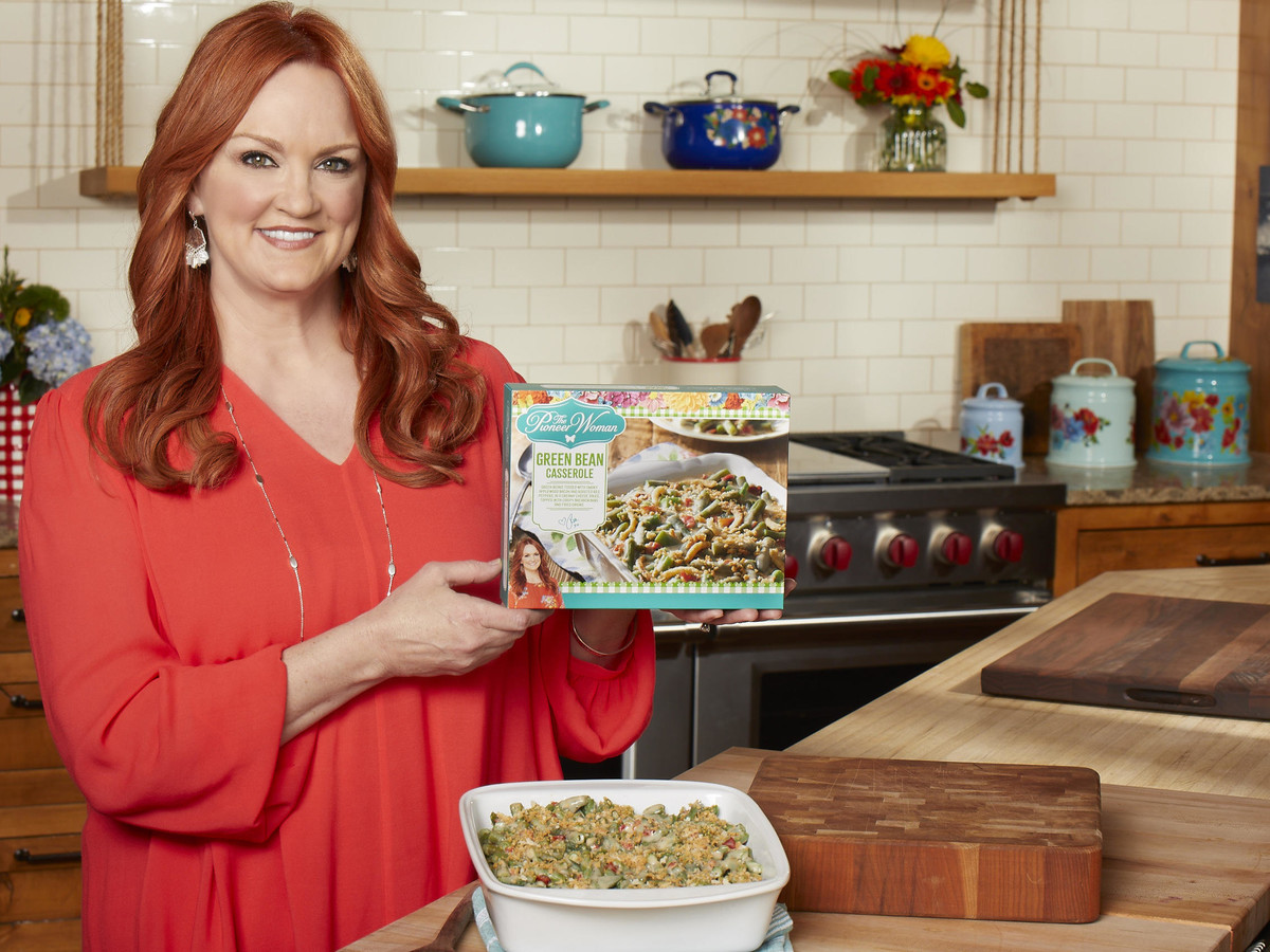 Ree Drummond Is Adding Even More Options to Her Comfort Food Line Pioneer%20Woman%20Green%20Bean%20Casserole%20-%20Ree%20Drummond