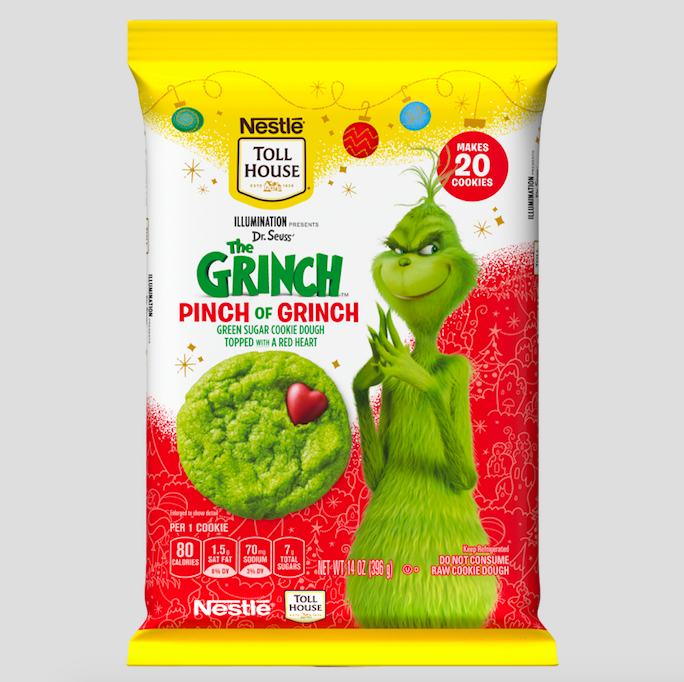 Nestlé Toll House Grinch Cookie Dough