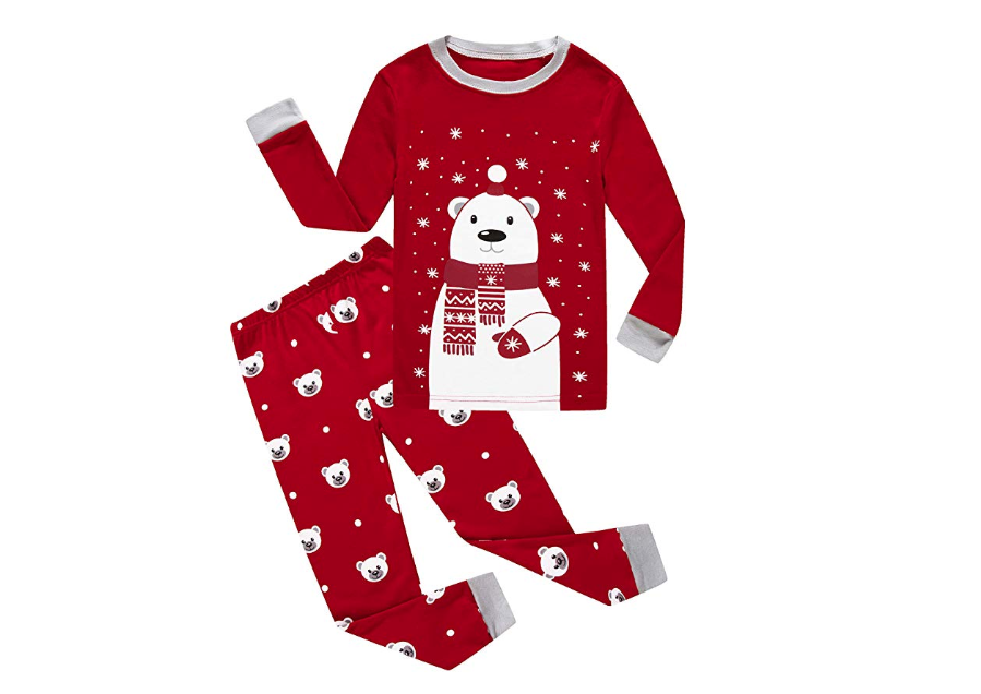Christmas Bear Pajamas