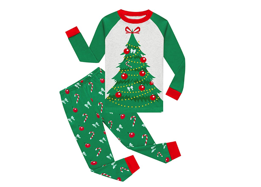 Christmas Tree Pajamas