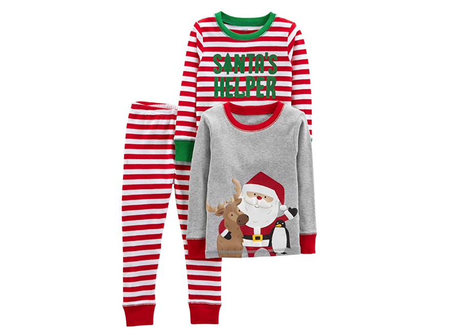 Santa's Helper Christmas Pajamas