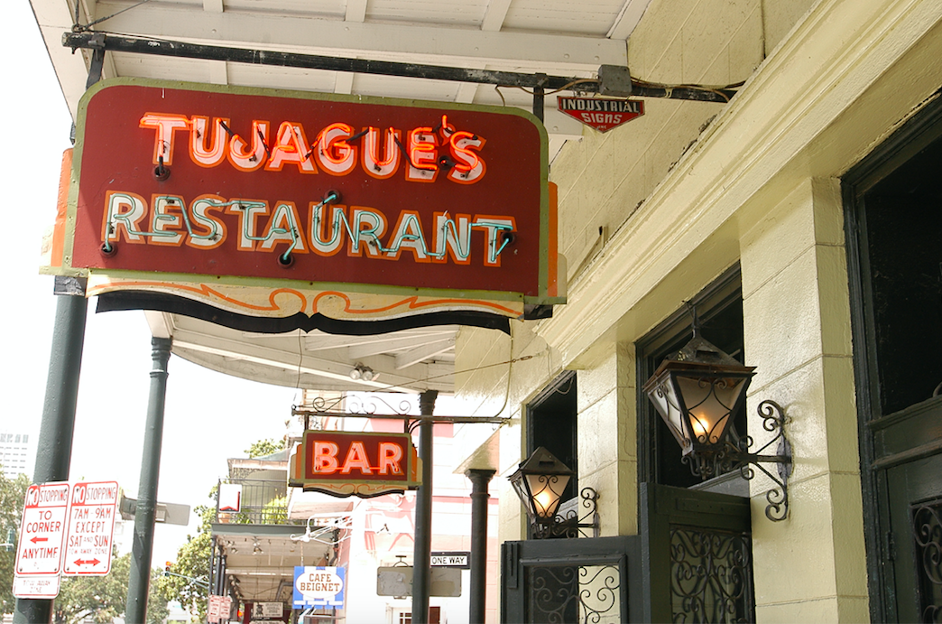 Tujague's Sign