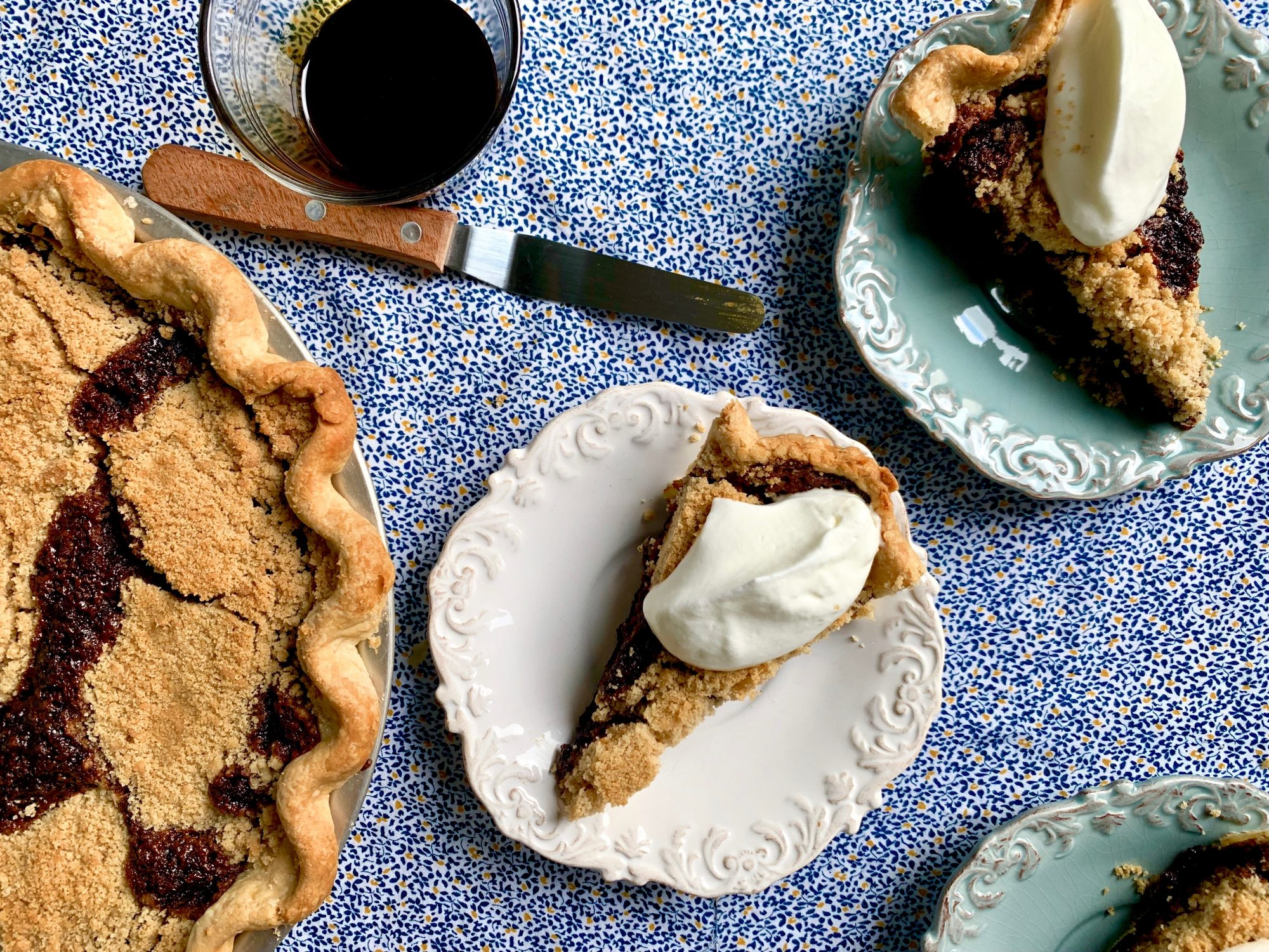 March: Old-Fashioned Shoofly Pie